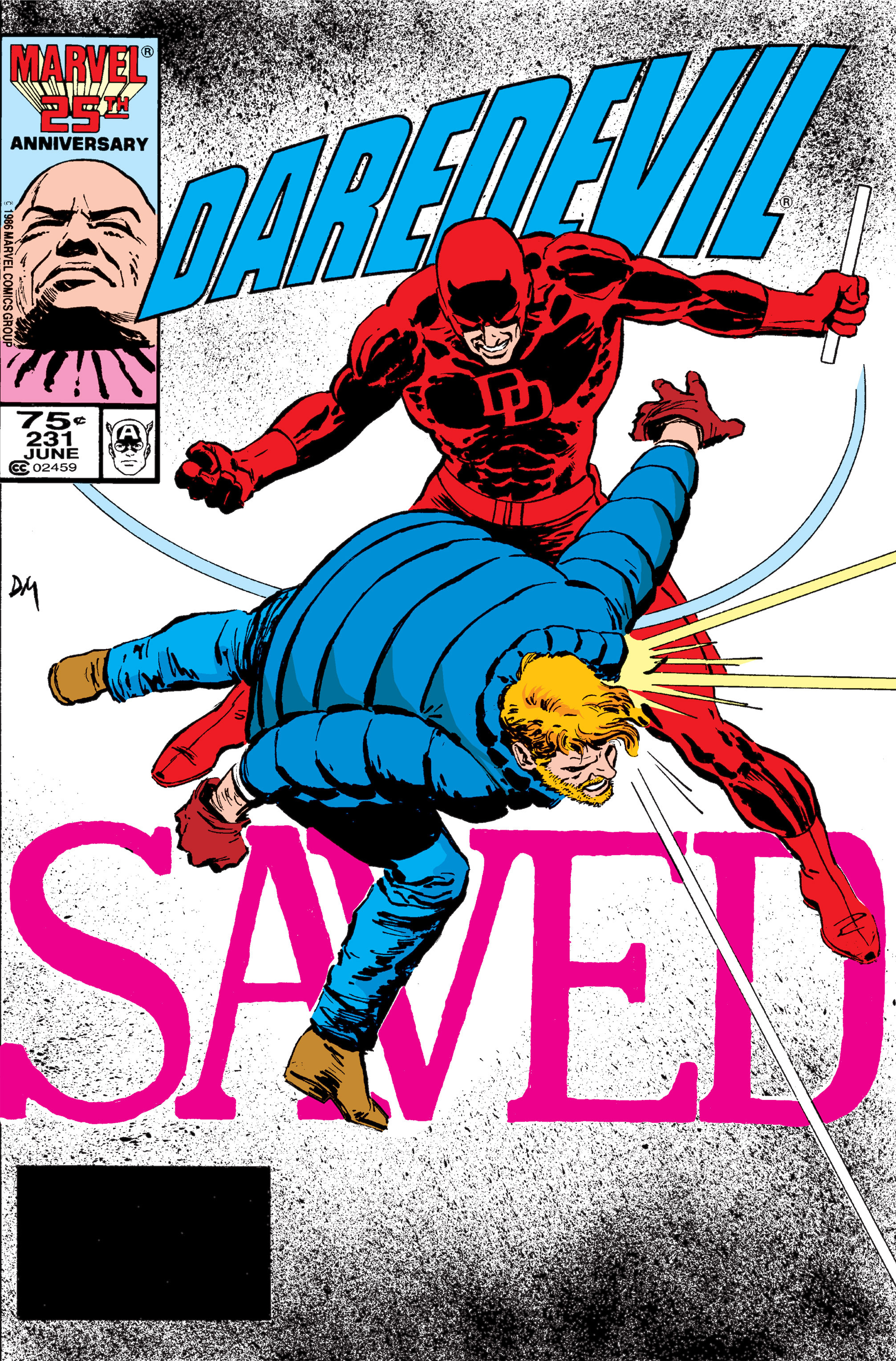 Read online Daredevil: Born Again comic -  Issue # Full - 122