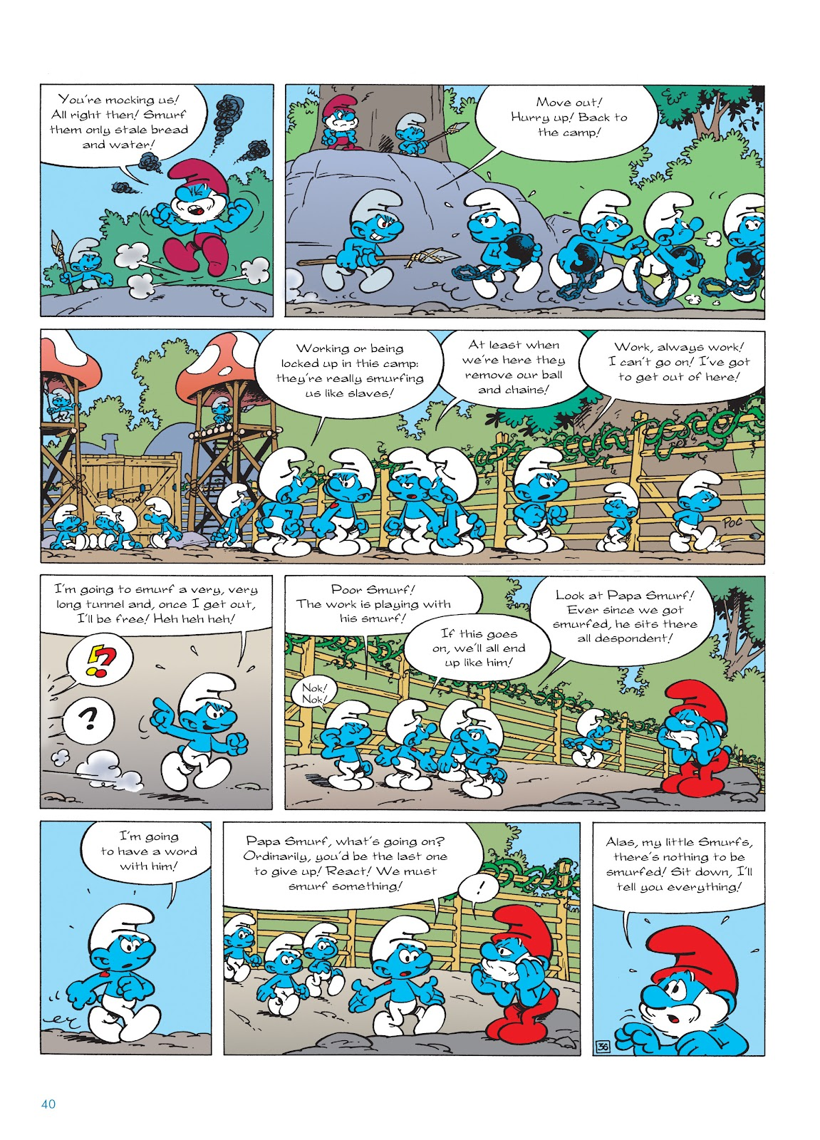 Read online The Smurfs comic -  Issue #22 - 41