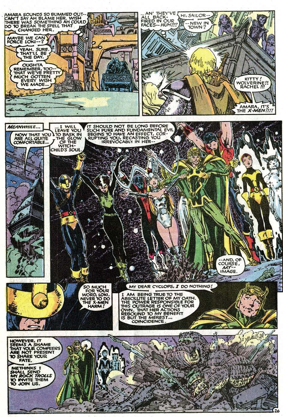 Read online Uncanny X-Men (1963) comic -  Issue # _Annual 9 - 28