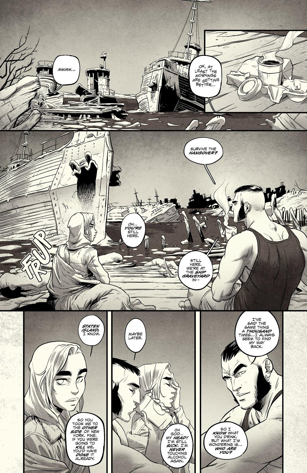Read online Nomen Omen comic -  Issue #3 - 8