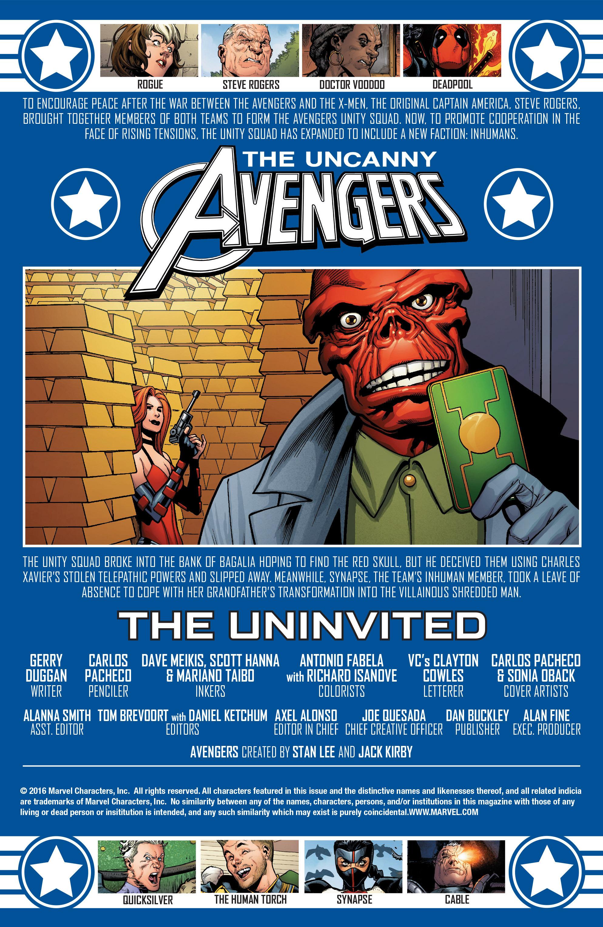 Read online Uncanny Avengers [II] comic -  Issue #6 - 2