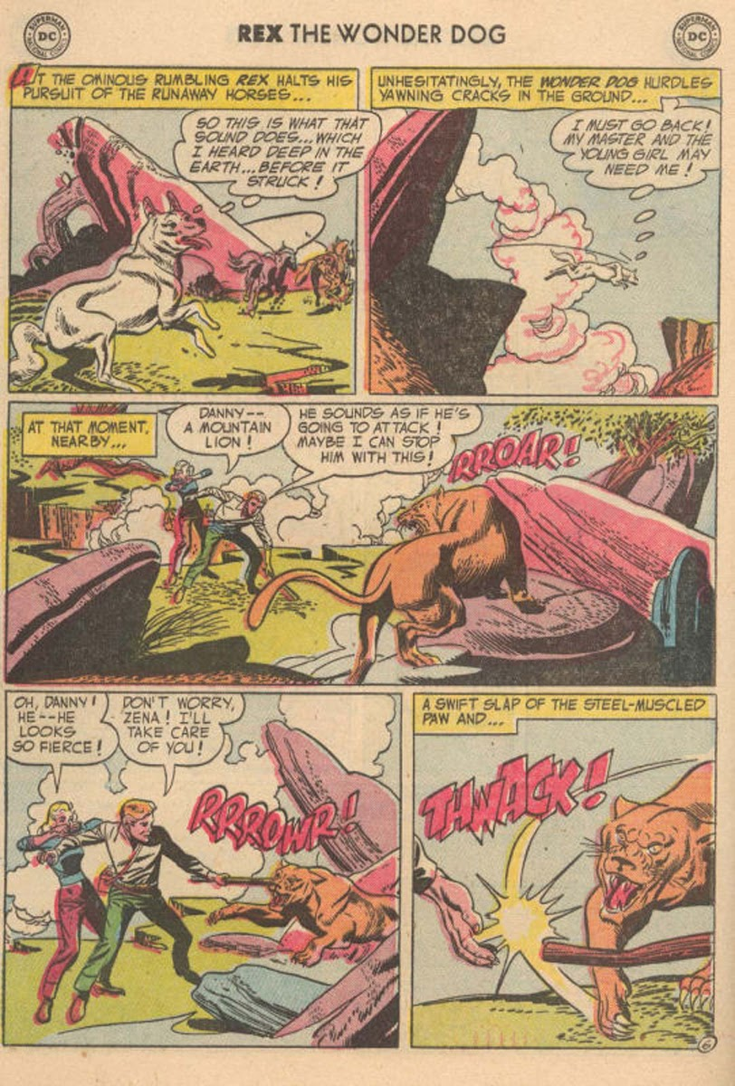 The Adventures of Rex the Wonder Dog issue 20 - Page 8