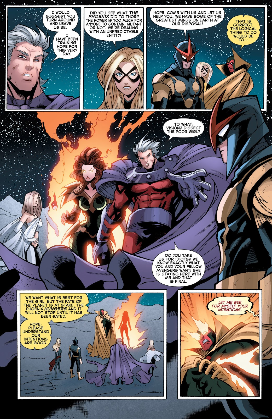 Read online What If? AvX comic -  Issue #3 - 4