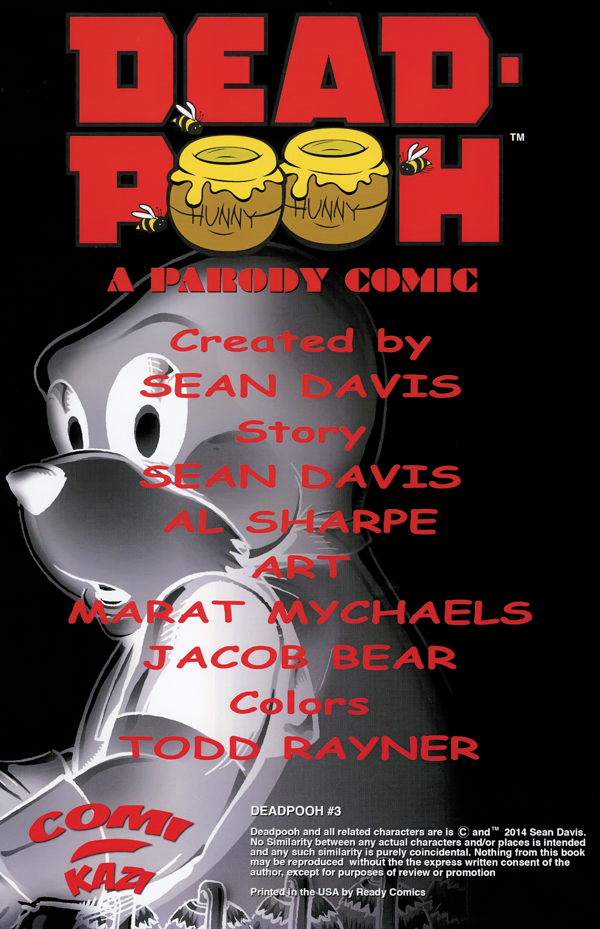 Read online Dead Pooh comic -  Issue #3 - 2