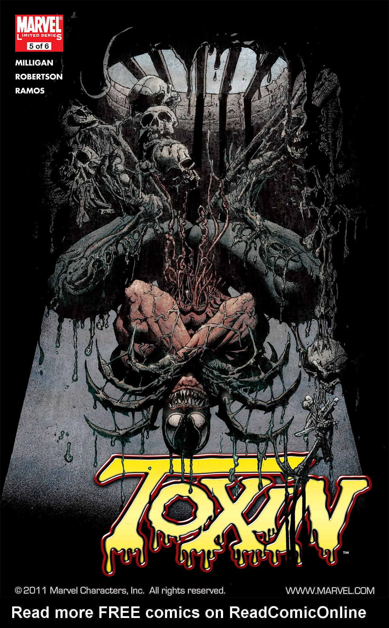 Read online Toxin comic -  Issue #5 - 1