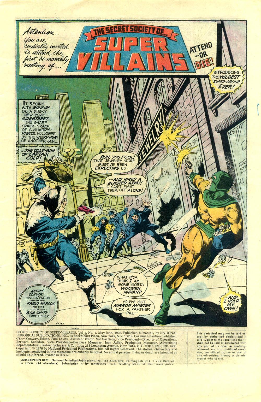 Read online Secret Society of Super-Villains comic -  Issue #1 - 2