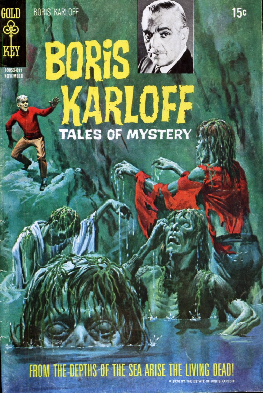 Boris Karloff Tales of Mystery issue 32 - Page 1