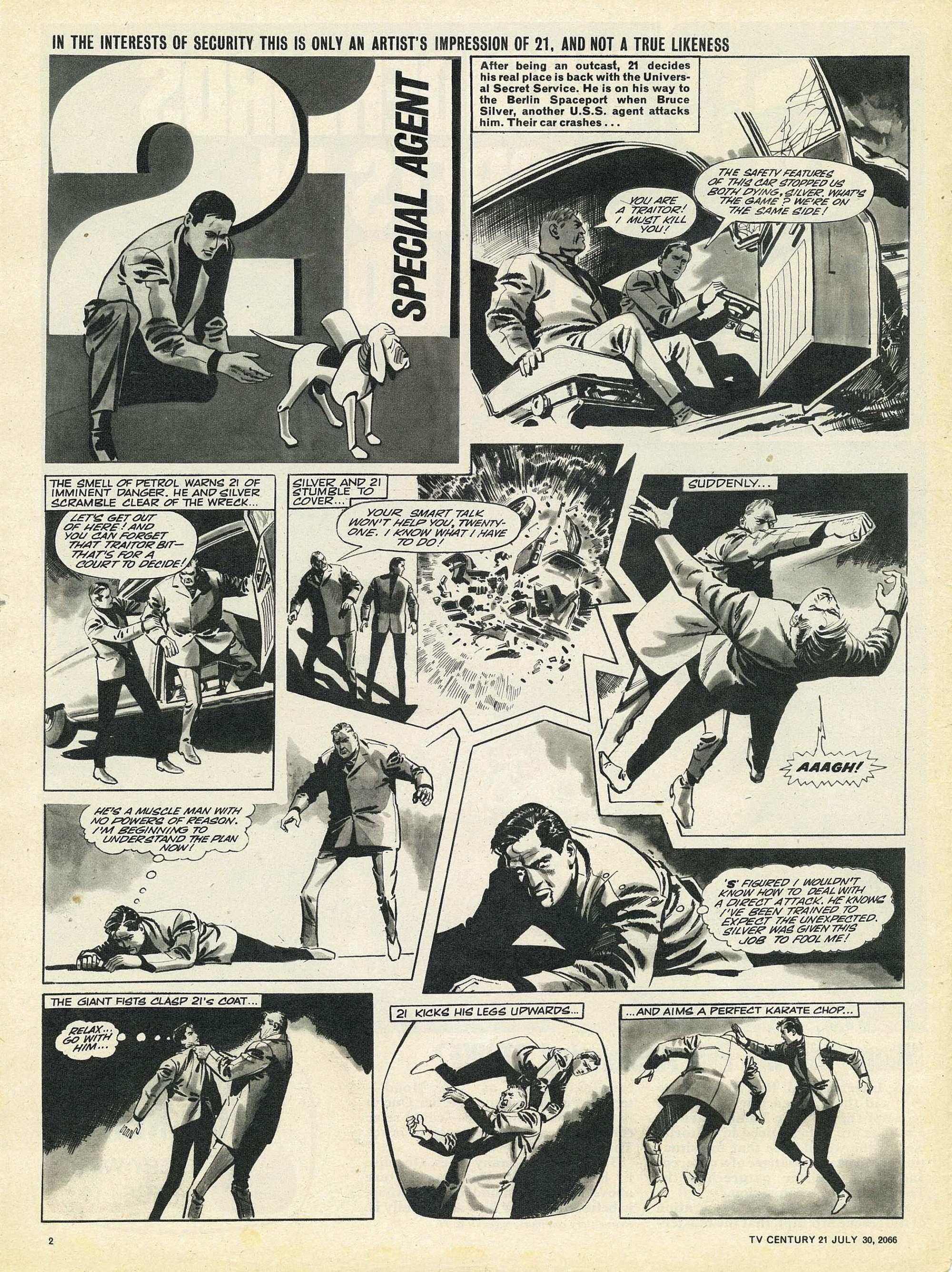 Read online TV Century 21 (TV 21) comic -  Issue #80 - 2