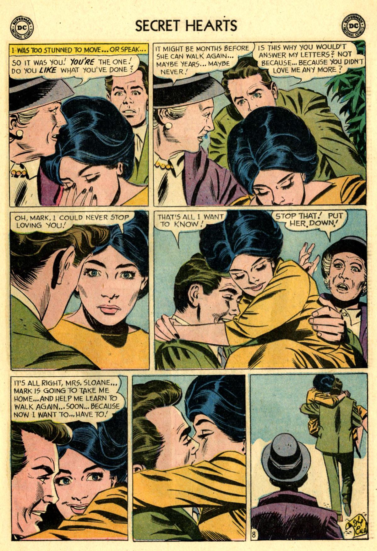 Read online Secret Hearts comic -  Issue #83 - 17