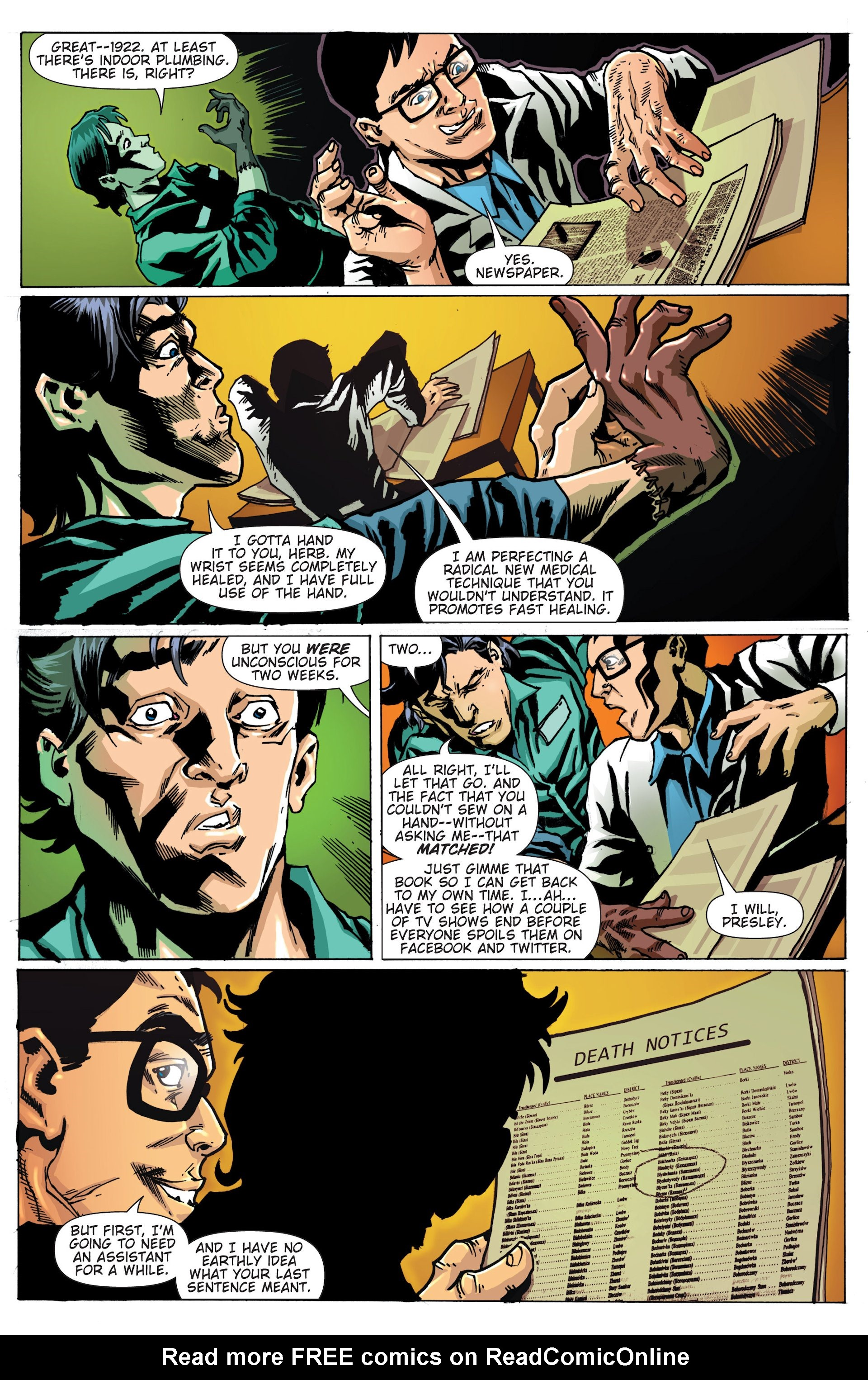 Read online Army of Darkness/Reanimator comic -  Issue #Army of Darkness/Reanimator Full - 9