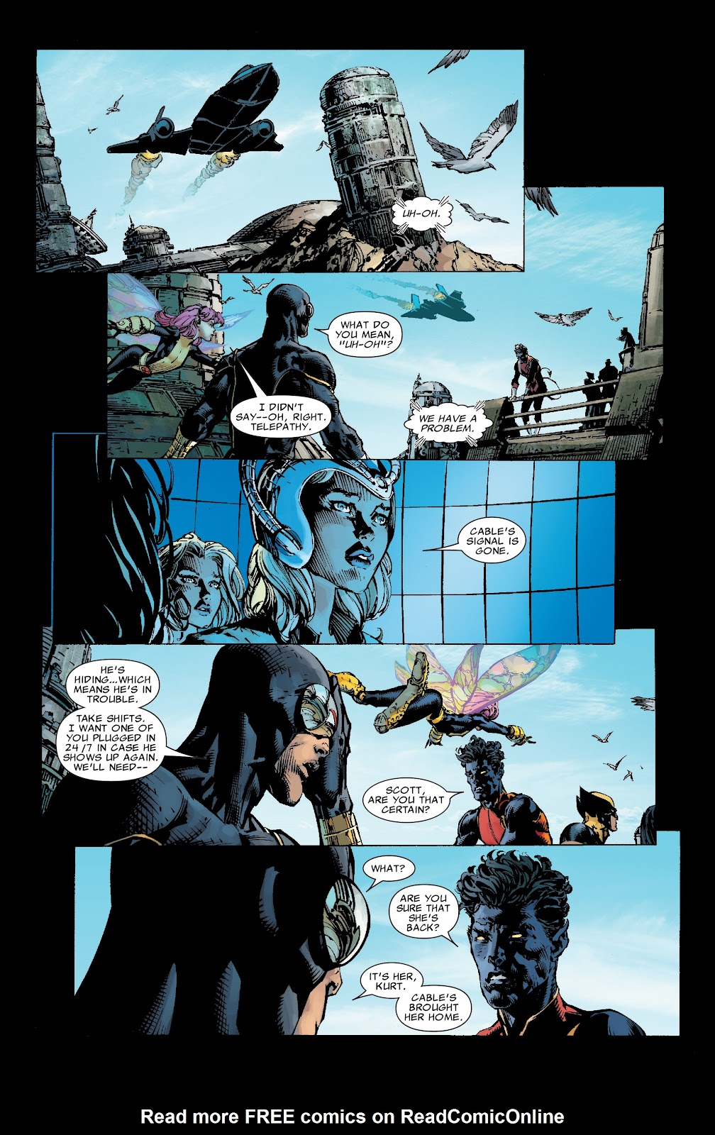 Read online X-Men: Second Coming comic -  Issue # _TPB (Part 1) - 30