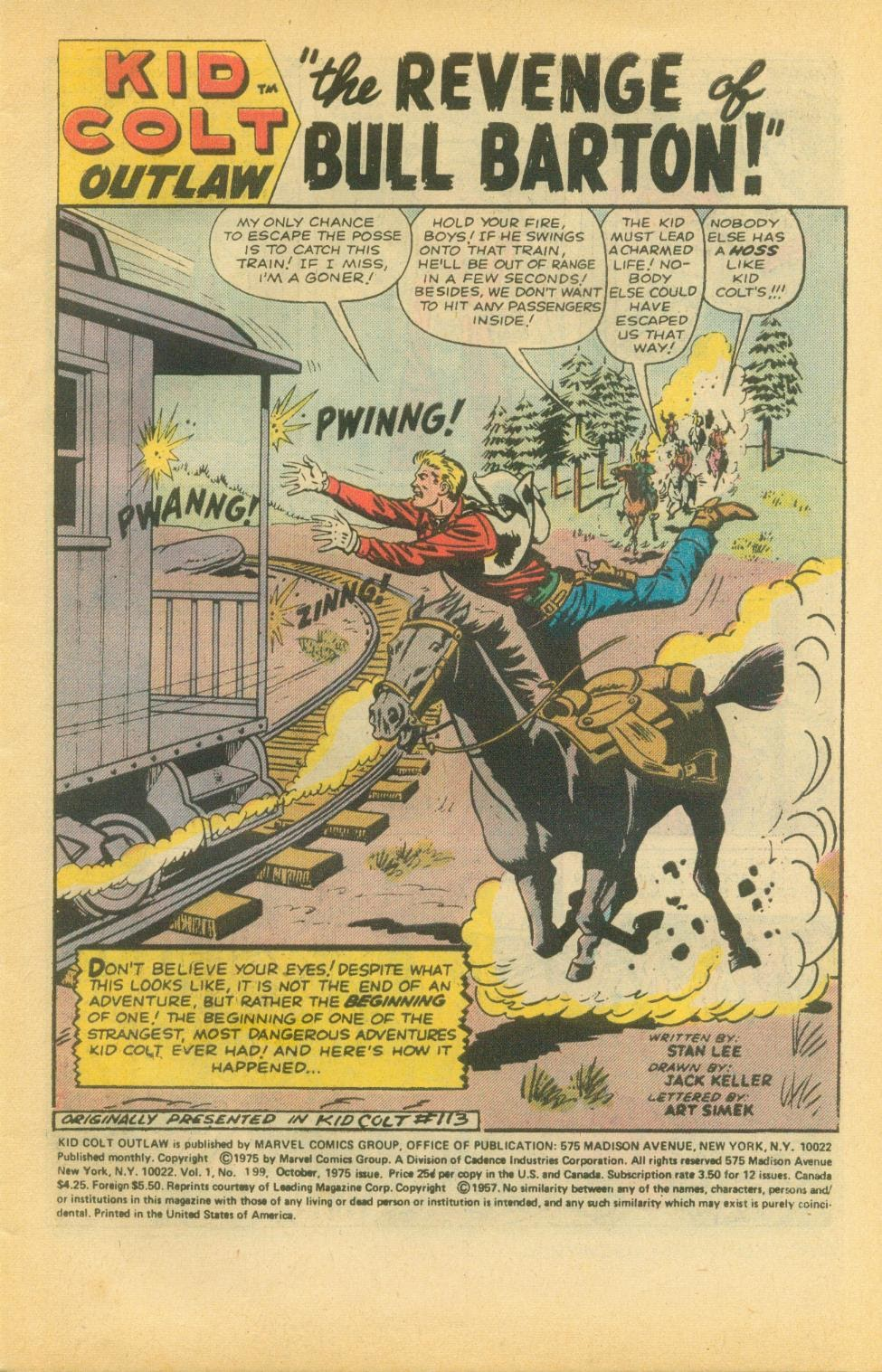 Kid Colt Outlaw issue 199 - Page 3