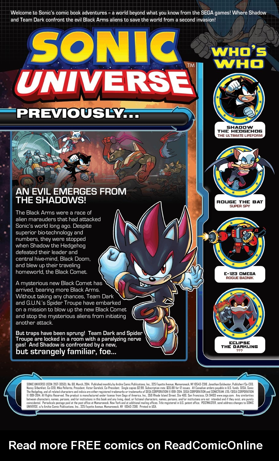 Read online Sonic Universe comic -  Issue #60 - 2