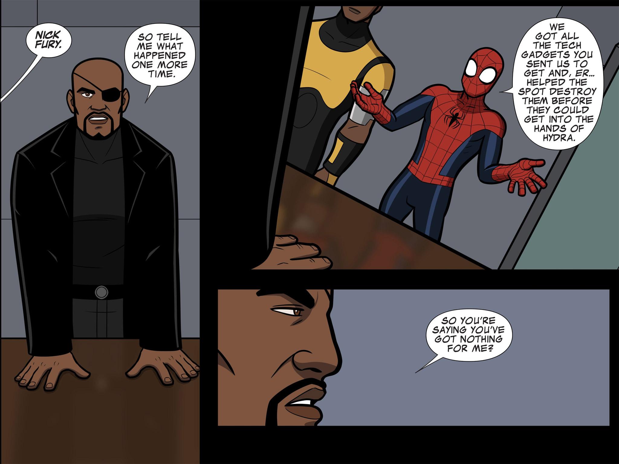 Read online Ultimate Spider-Man (Infinite Comics) (2015) comic -  Issue #11 - 33