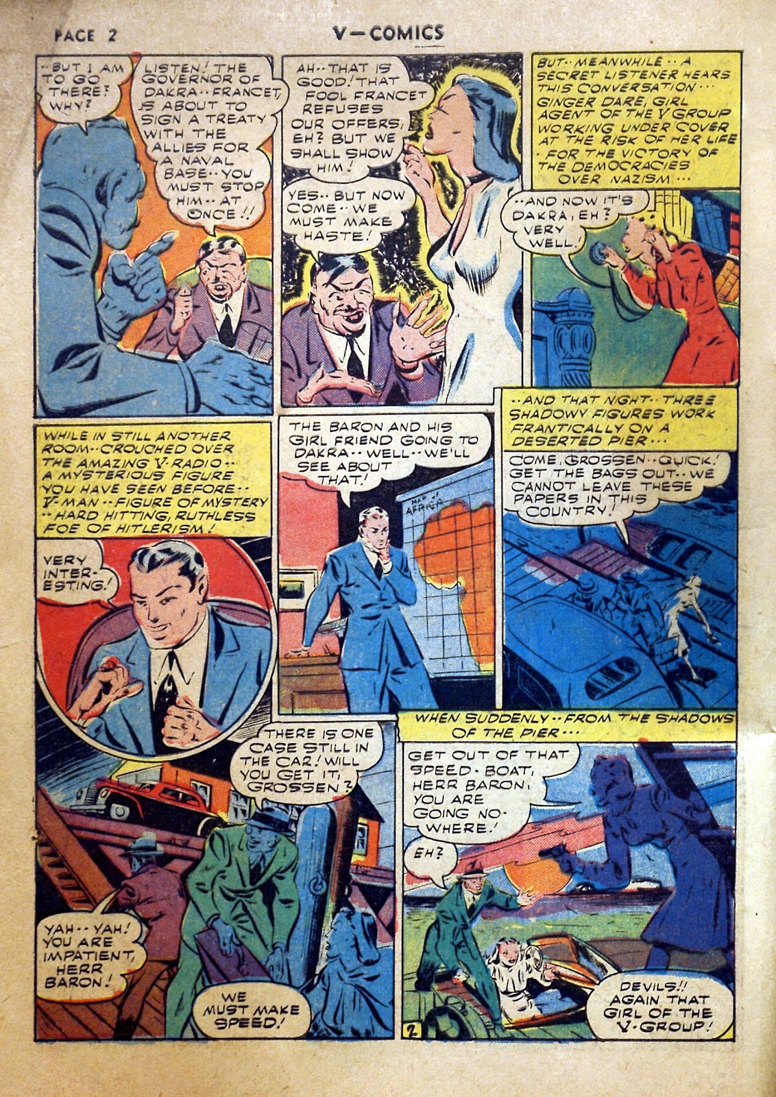 Read online V...- Comics comic -  Issue #2 - 3