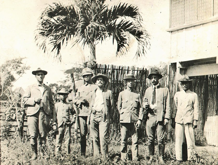 "Image credit:  University of Michigan Digital Collections, with the title ""Seven men"" taken 2 January 1904 in Batangas."