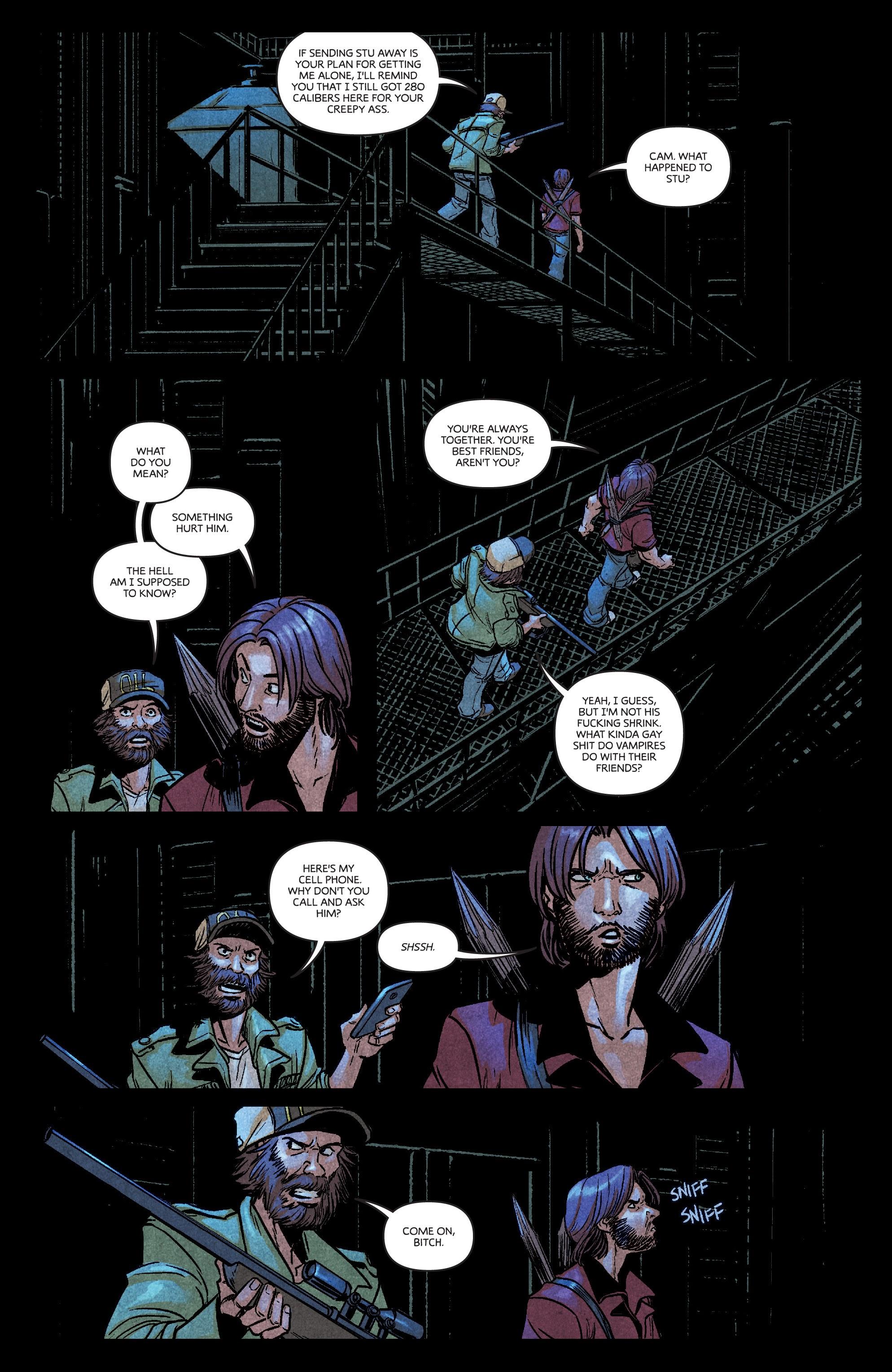 Read online Dark Red comic -  Issue #4 - 17