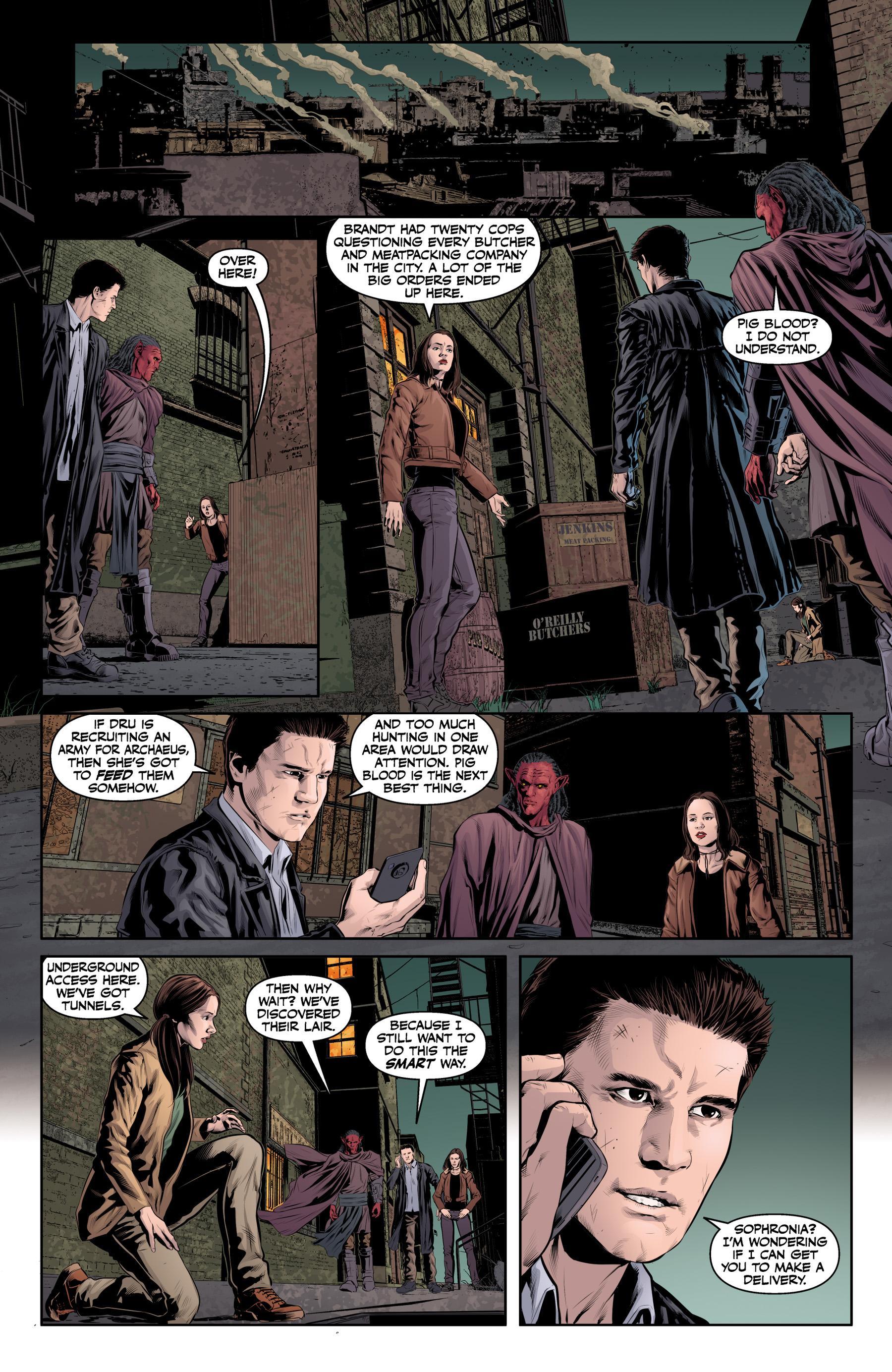 Read online Angel & Faith Season 10 comic -  Issue #20 - 16