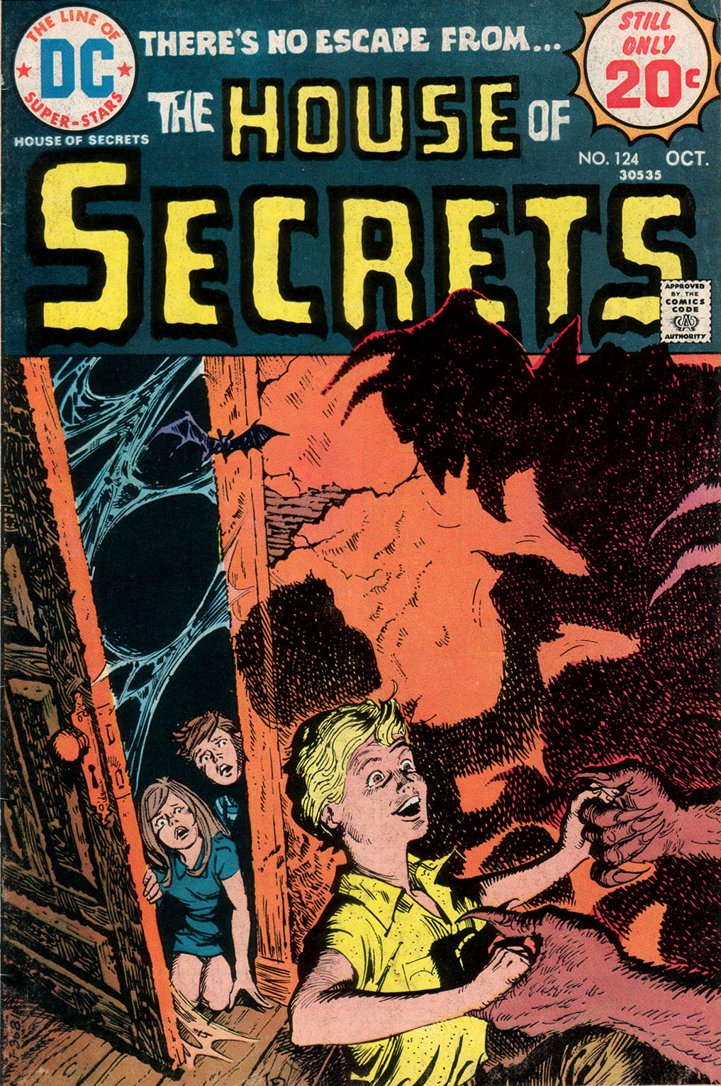 House of Secrets (1956) issue 124 - Page 1