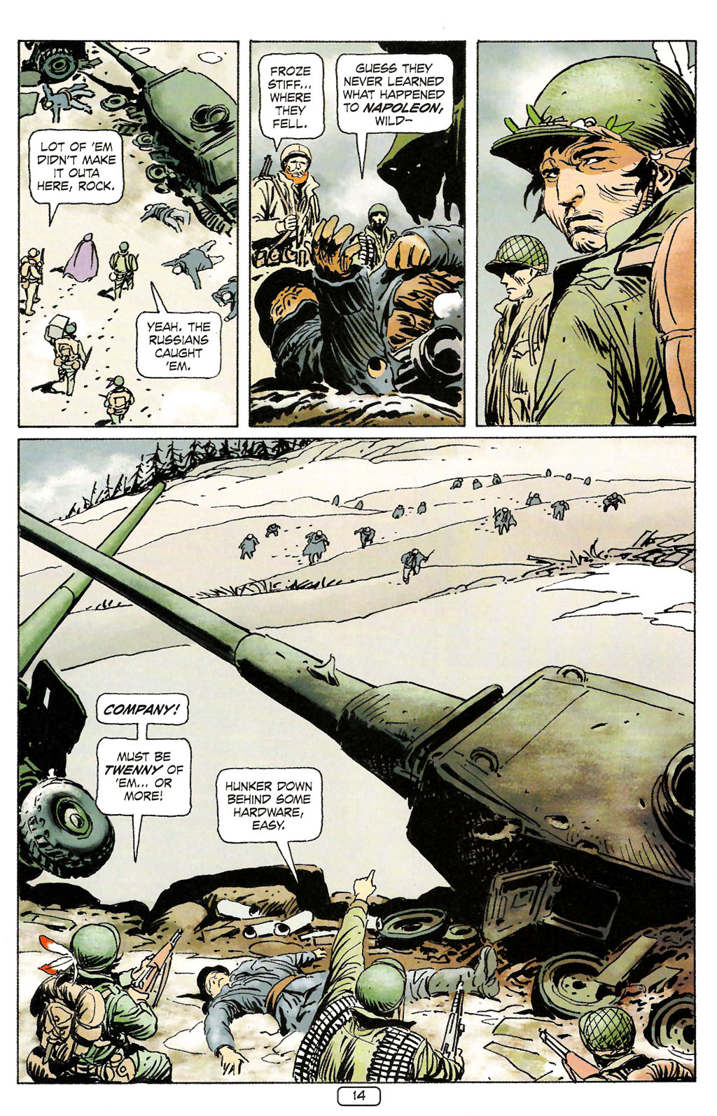 Read online Sgt. Rock: The Prophecy comic -  Issue #4 - 14