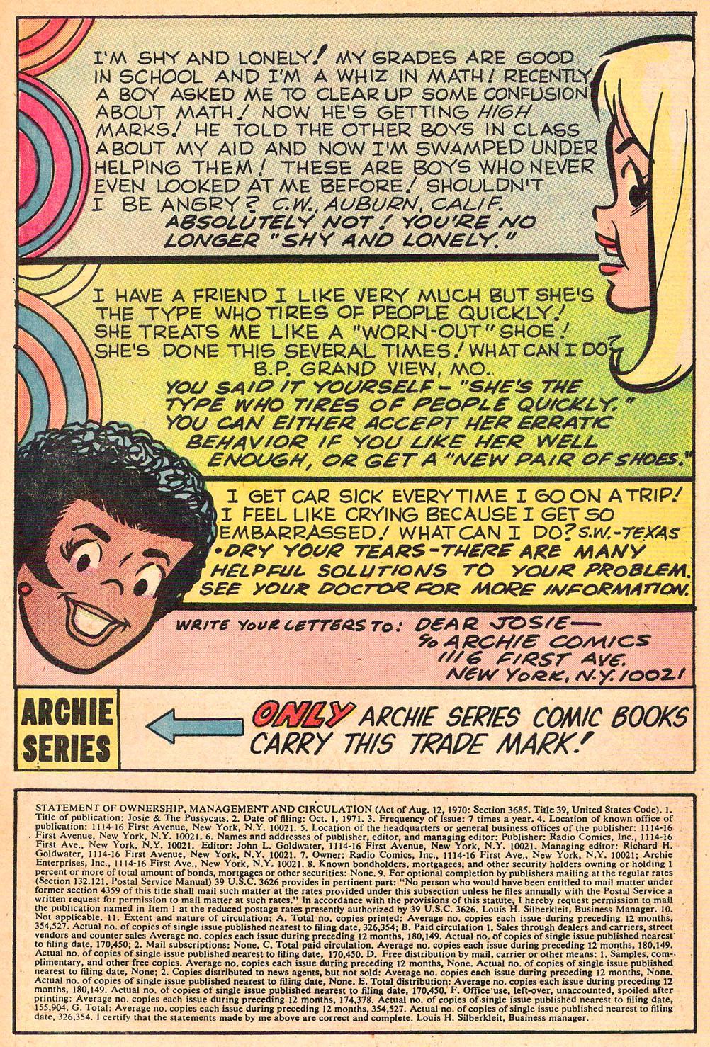 Read online She's Josie comic -  Issue #61 - 33
