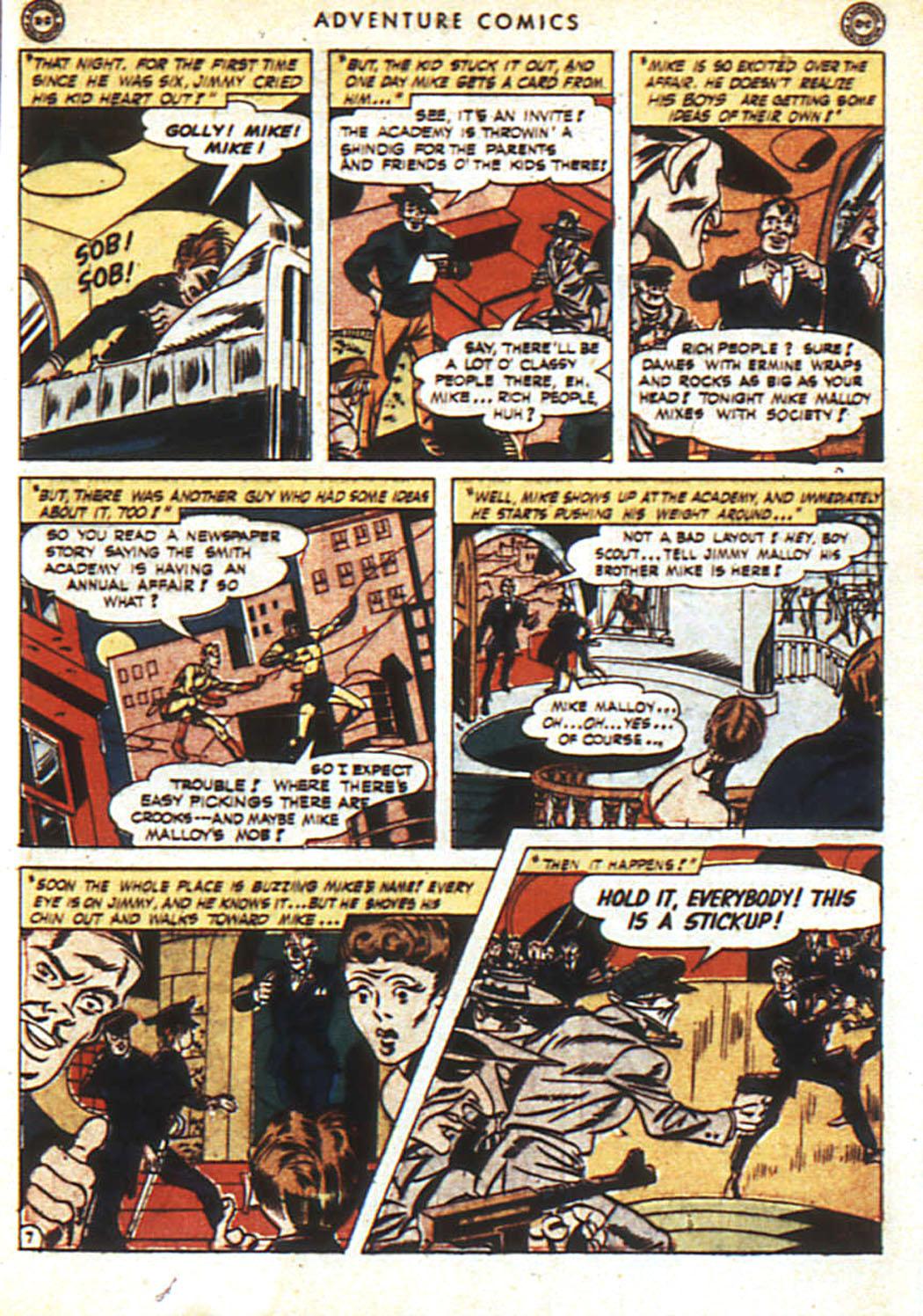 Read online Adventure Comics (1938) comic -  Issue #92 - 8