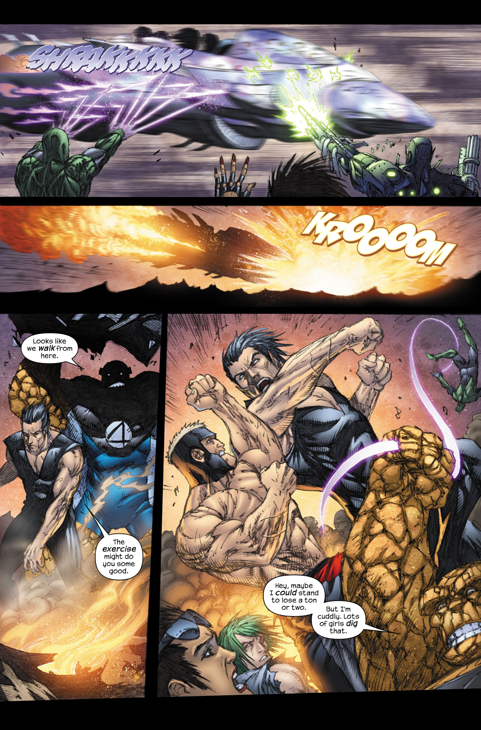 Read online Ultimate Fantastic Four (2004) comic -  Issue #57 - 17