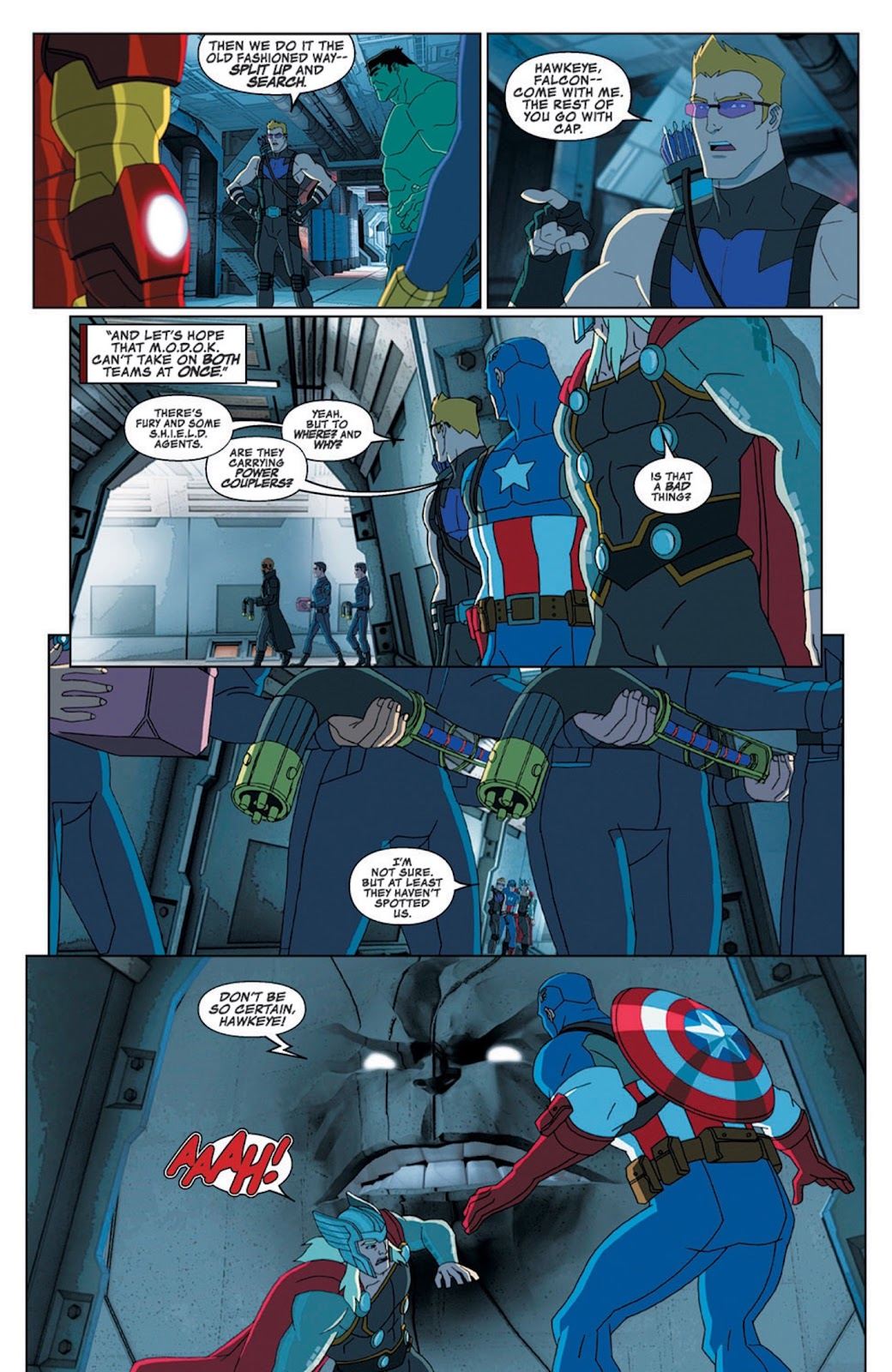 Read online Marvel Universe Avengers Assemble Season 2 comic -  Issue #8 - 21