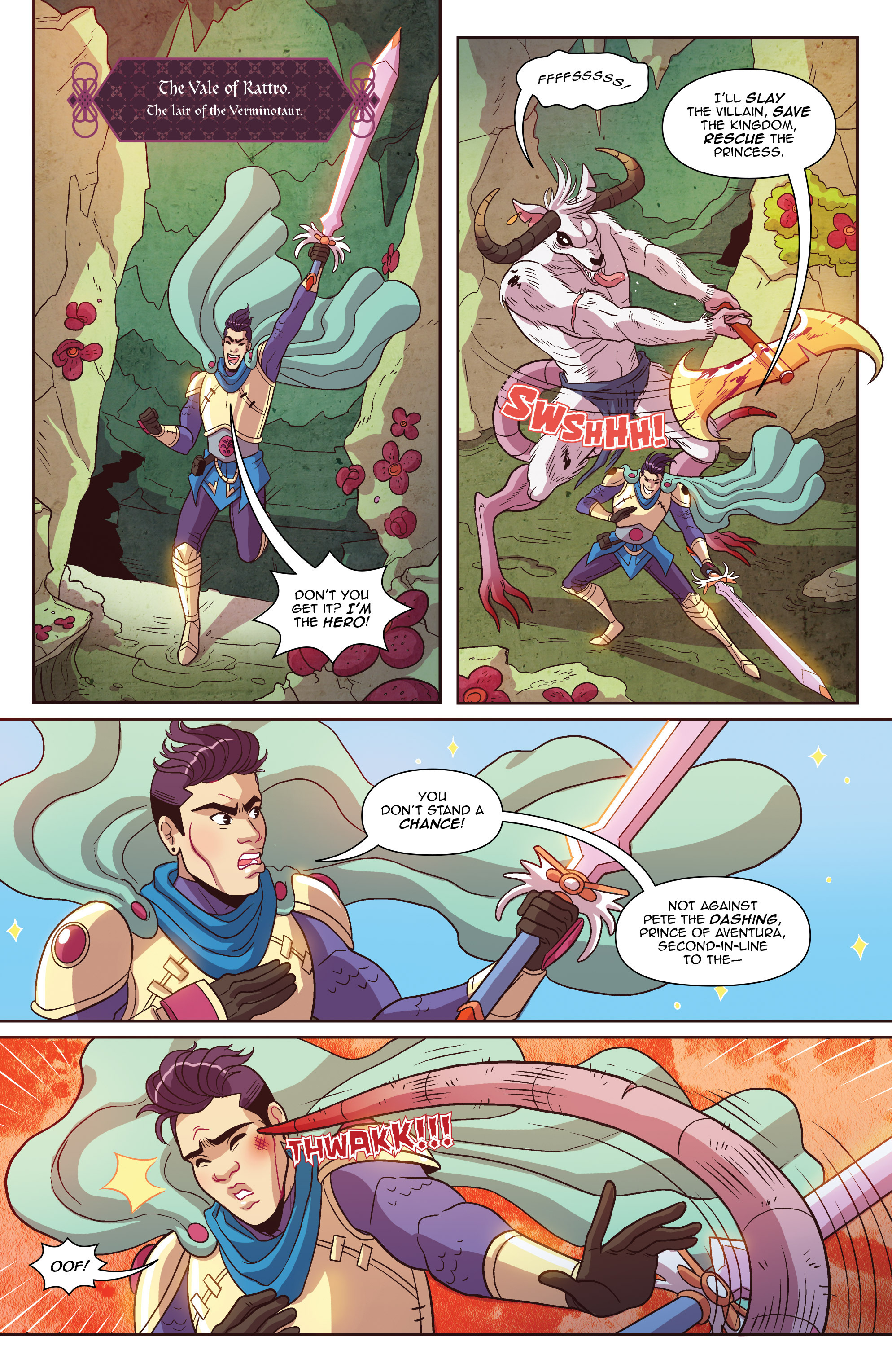 Read online Another Castle comic -  Issue #2 - 3
