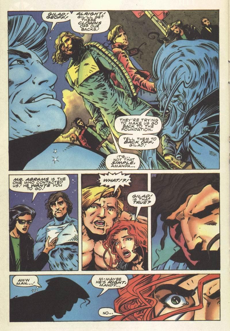 Read online Secret Weapons comic -  Issue #8 - 17