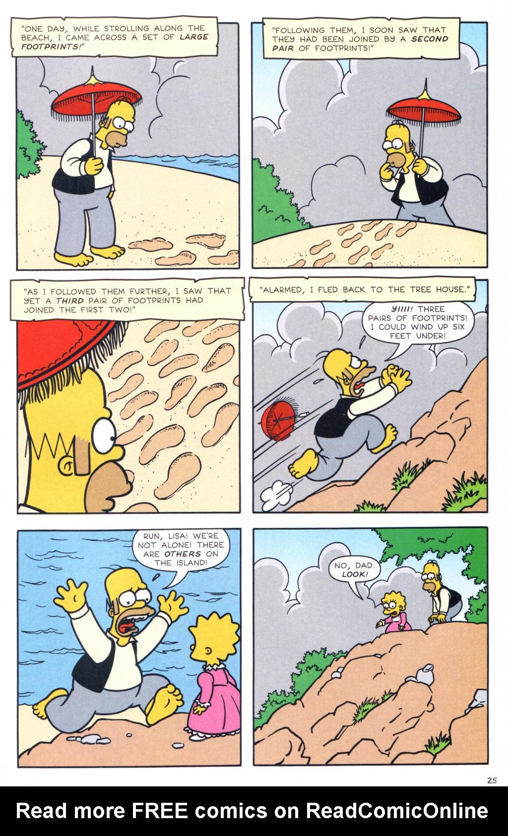 Read online Simpsons Comics comic -  Issue #127 - 20