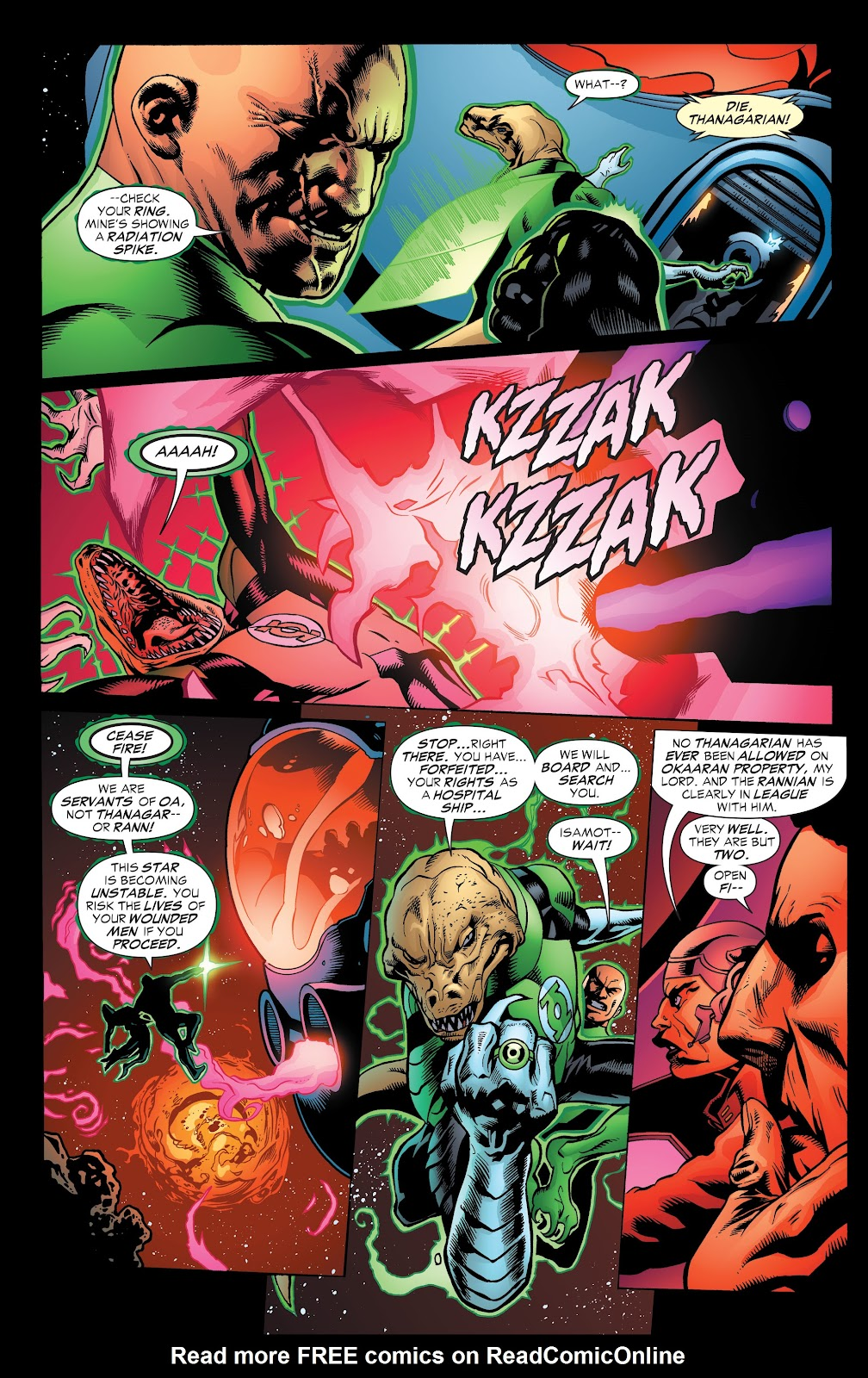 Read online Green Lantern by Geoff Johns comic -  Issue # TPB 1 (Part 3) - 17