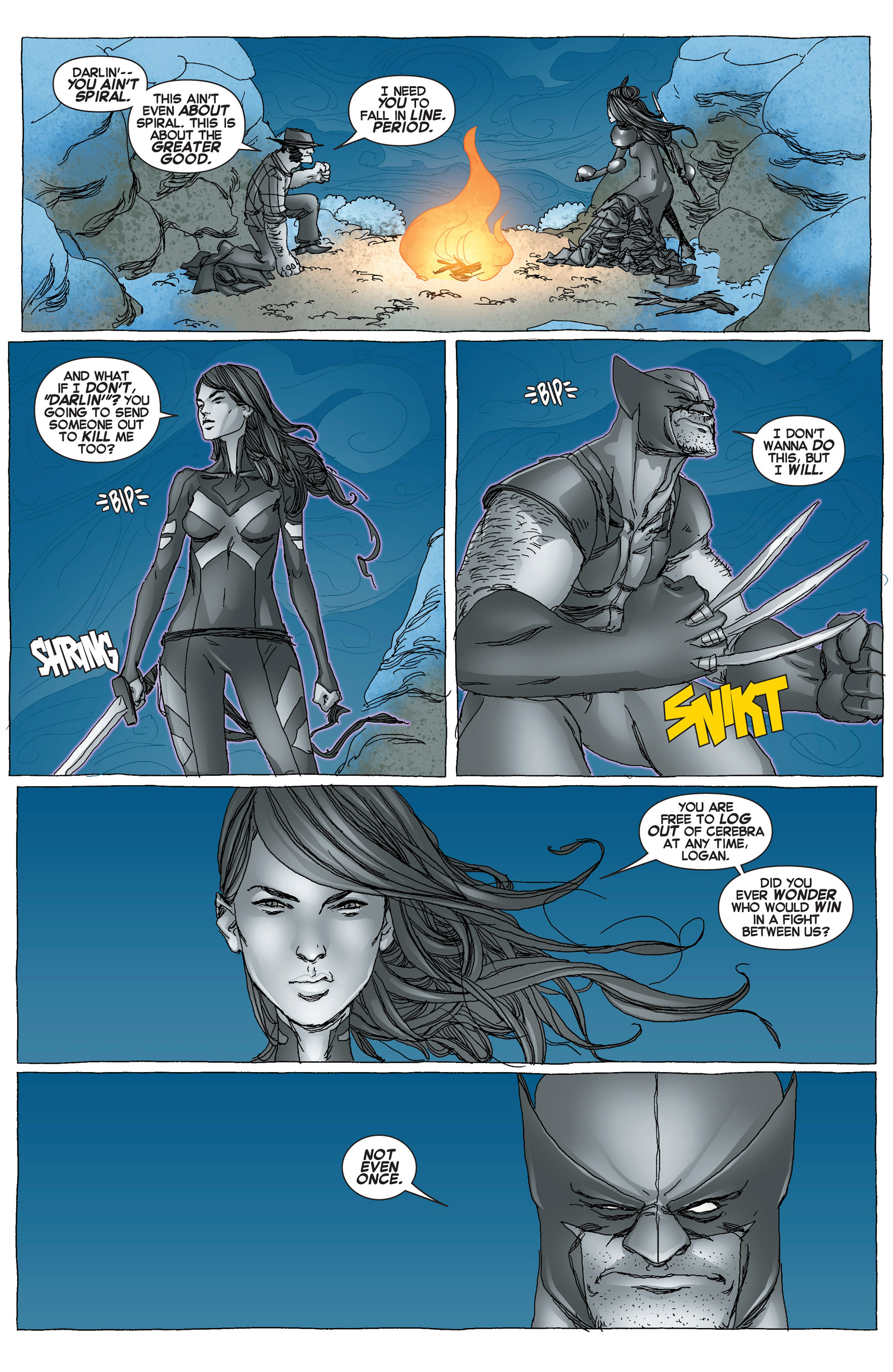 Read online Uncanny X-Force (2013) comic -  Issue #6 - 17