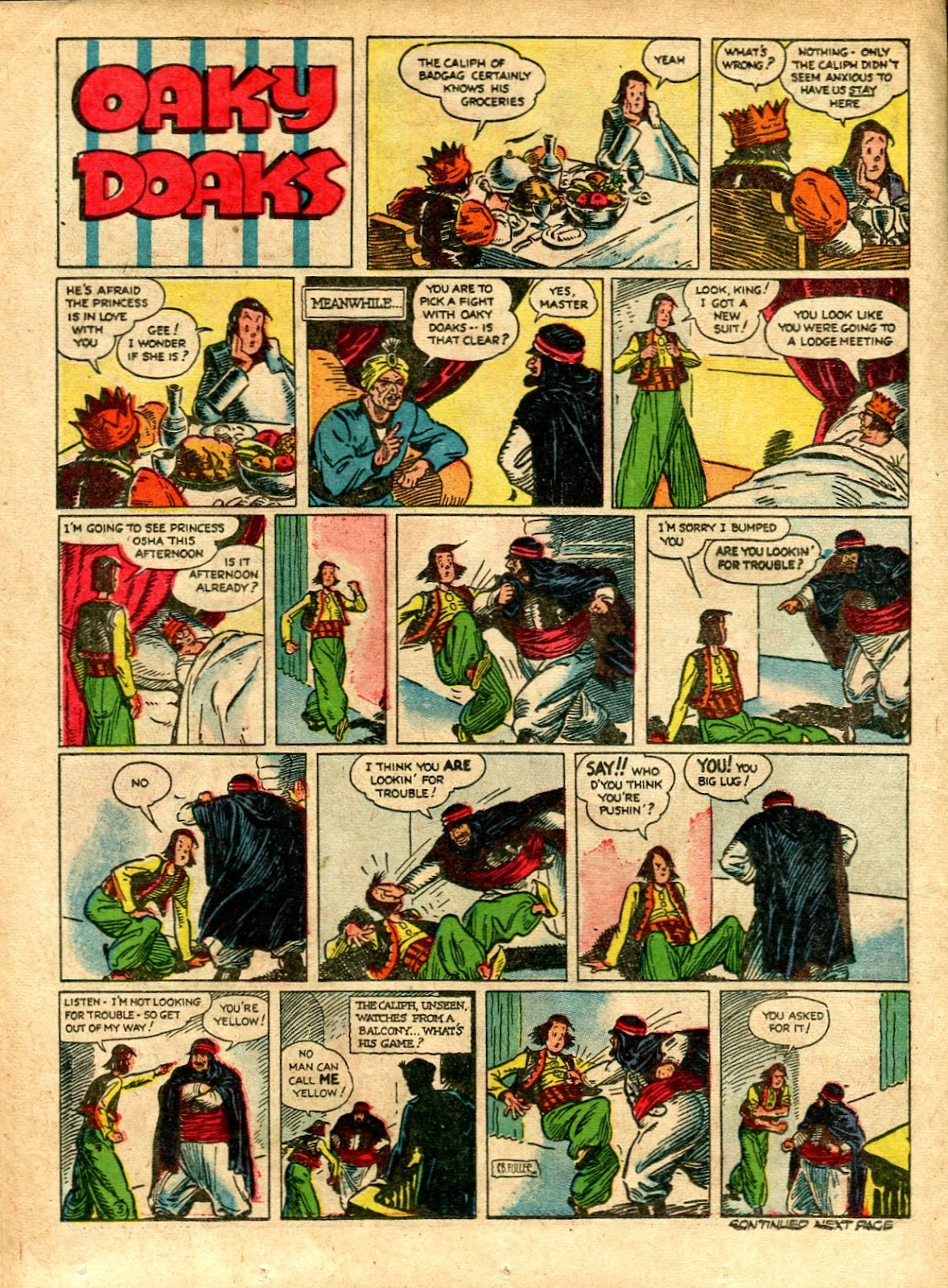 Read online Famous Funnies comic -  Issue #72 - 40