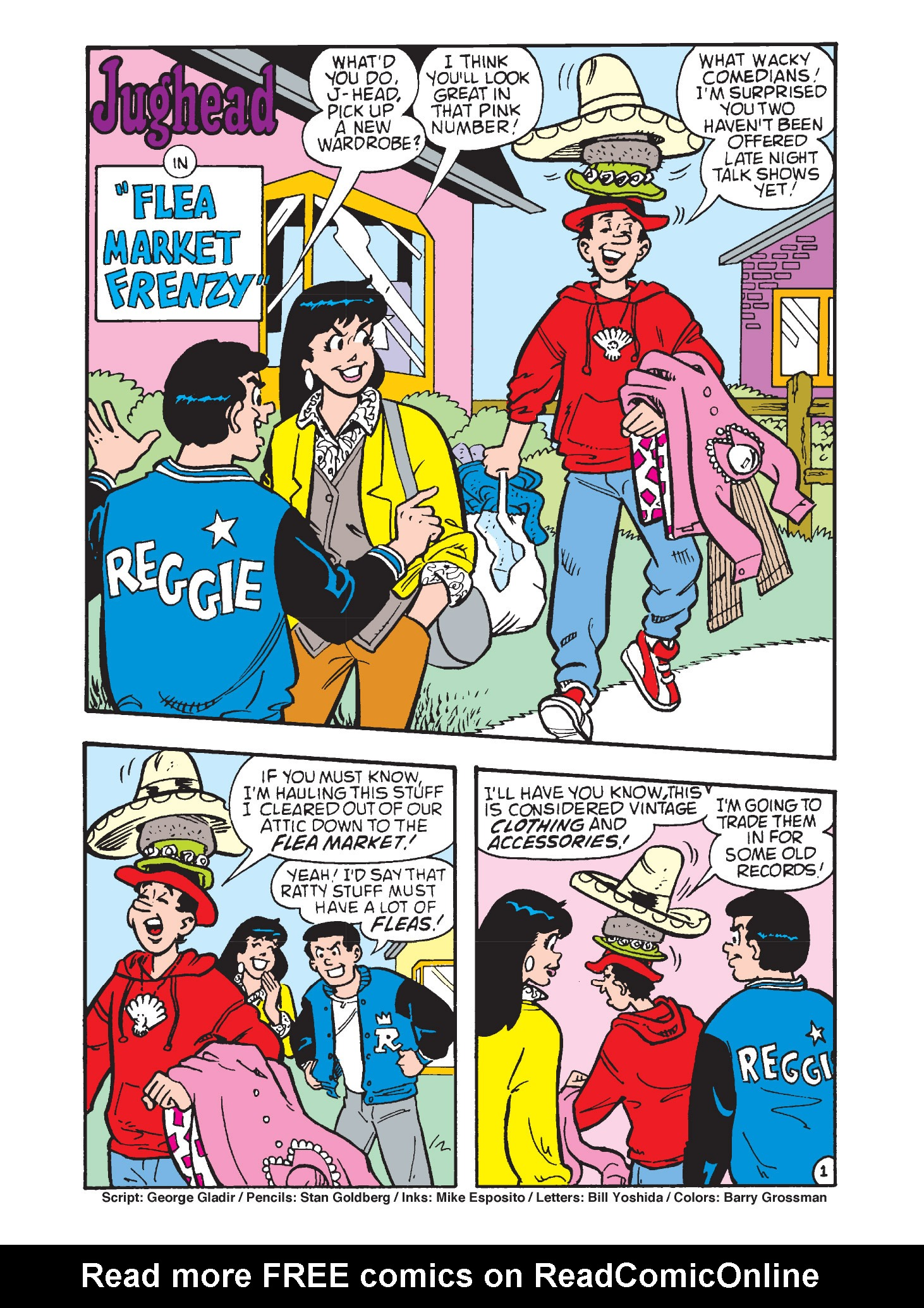 Read online Archie's Funhouse Double Digest comic -  Issue #3 - 109