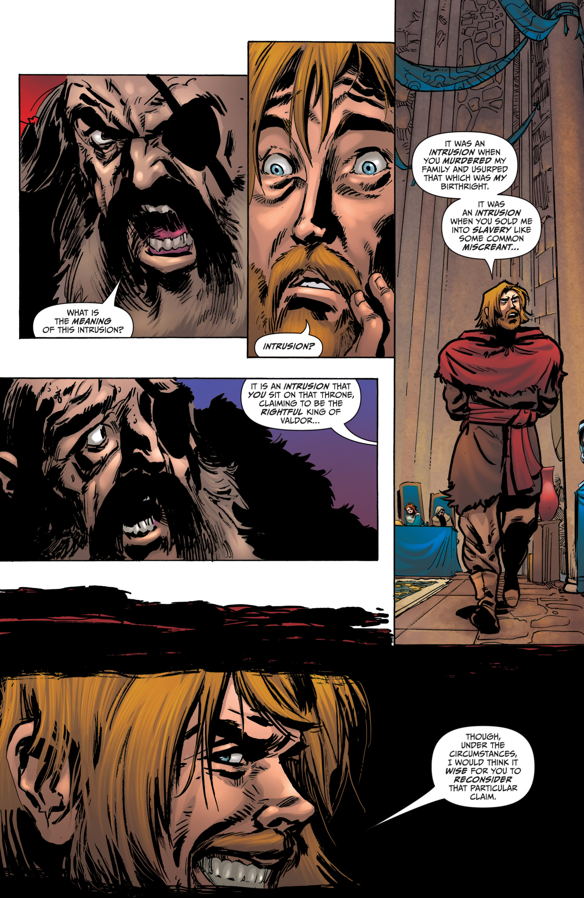 Read online Grimm Fairy Tales presents Grimm Universe comic -  Issue # TPB - 152