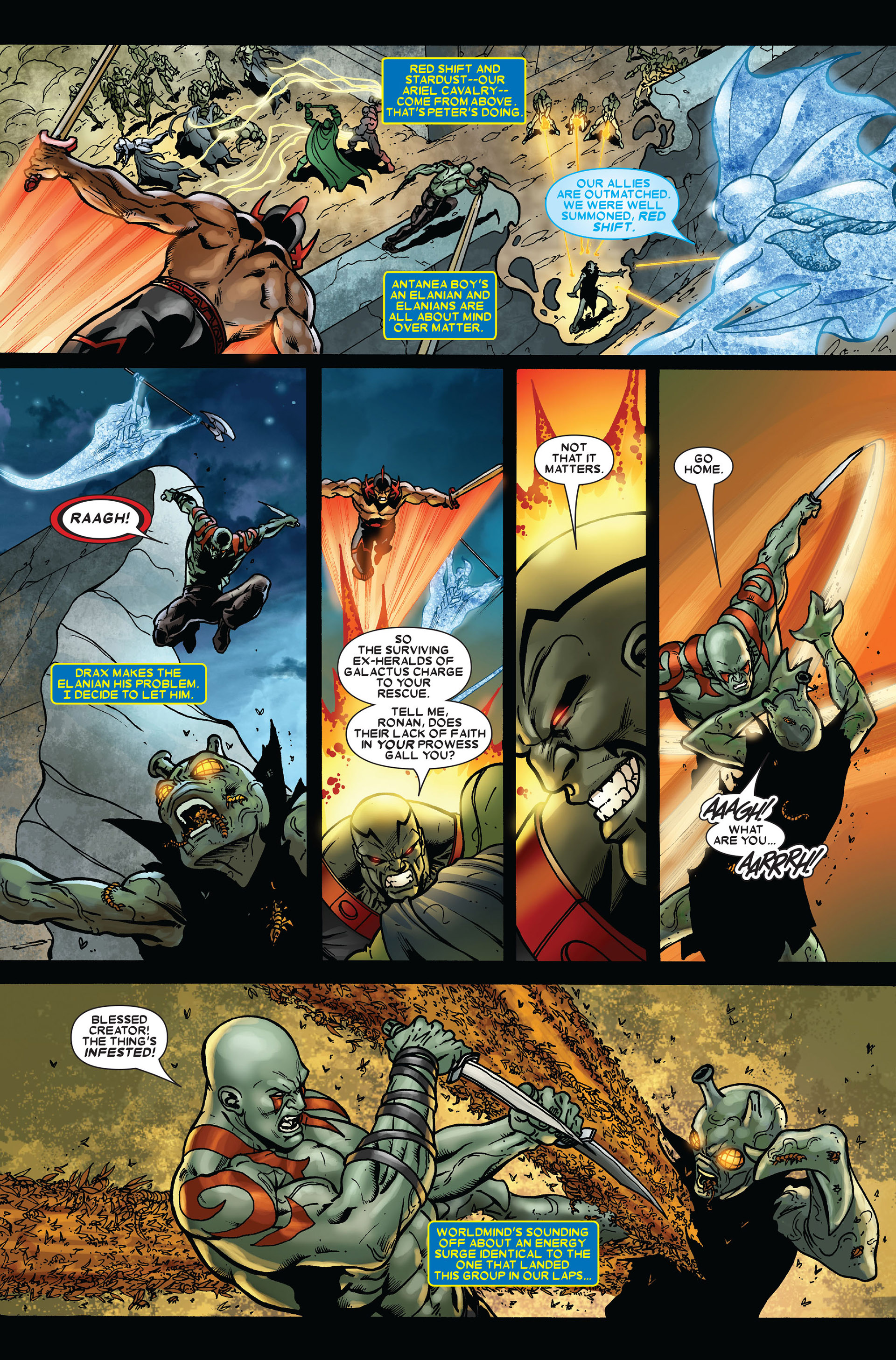 Read online Annihilation comic -  Issue #2 - 22