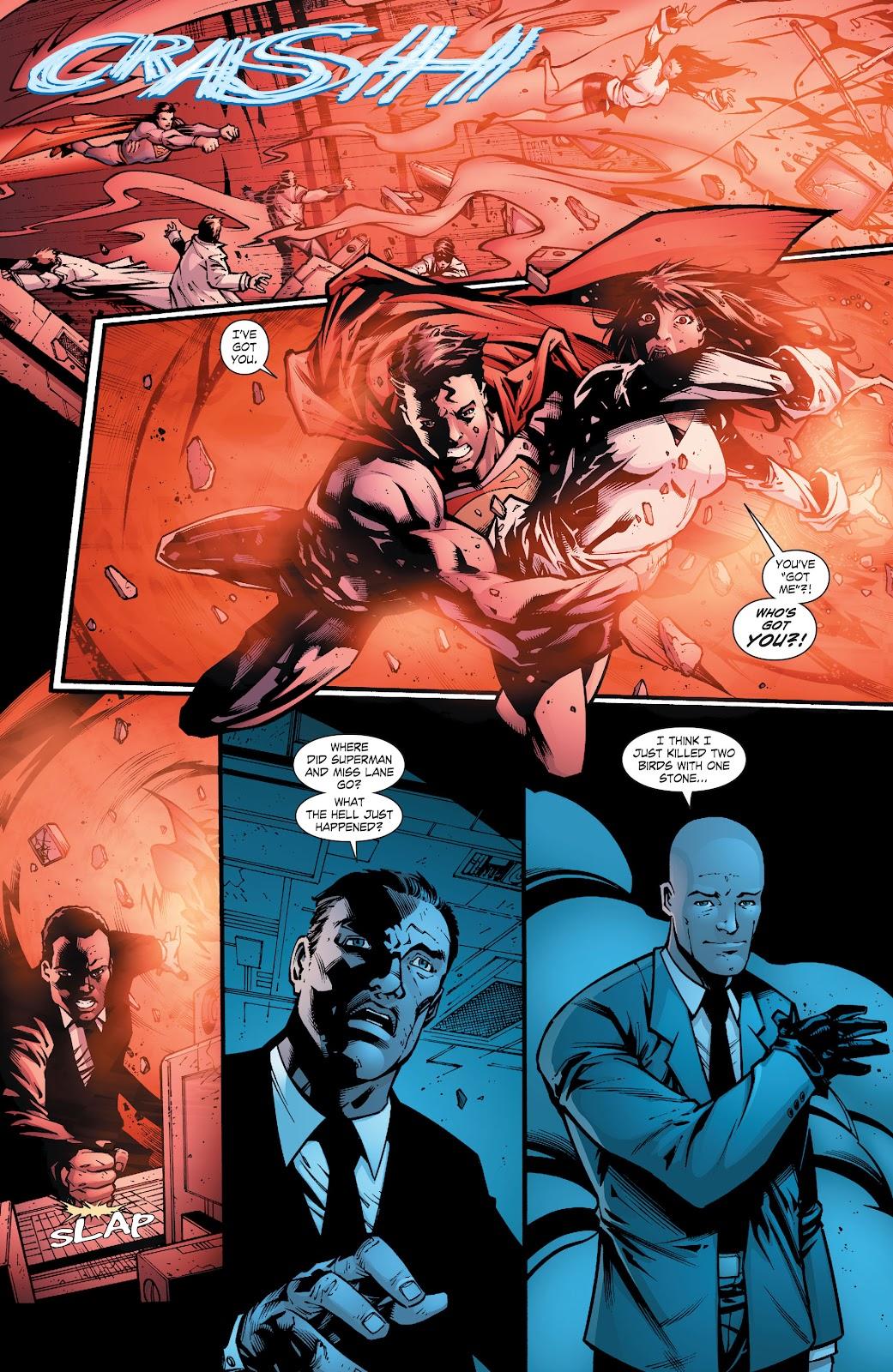 Read online Smallville Season 11 [II] comic -  Issue # TPB 8 - 58