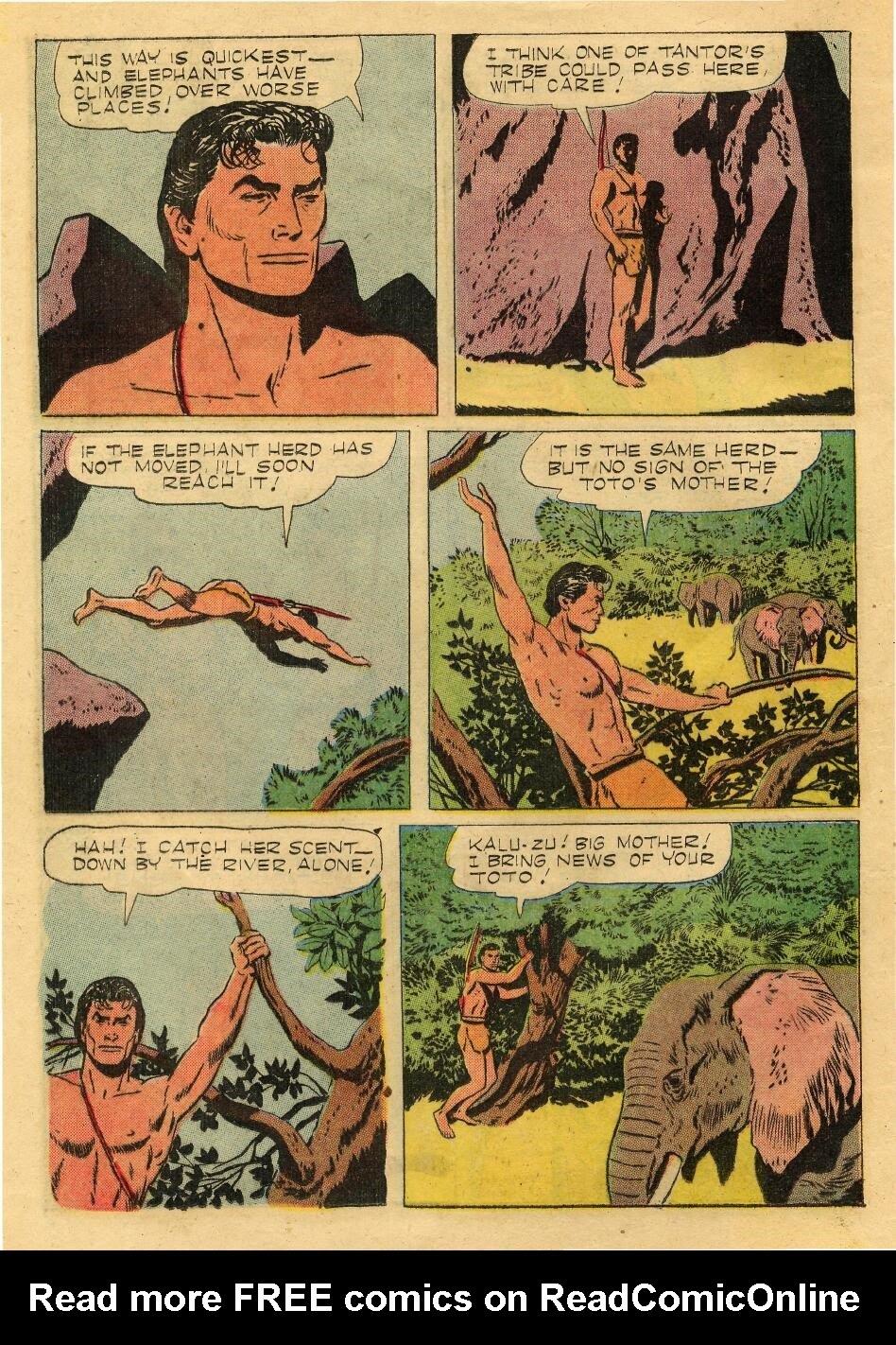 Tarzan (1948) issue 76 - Page 12