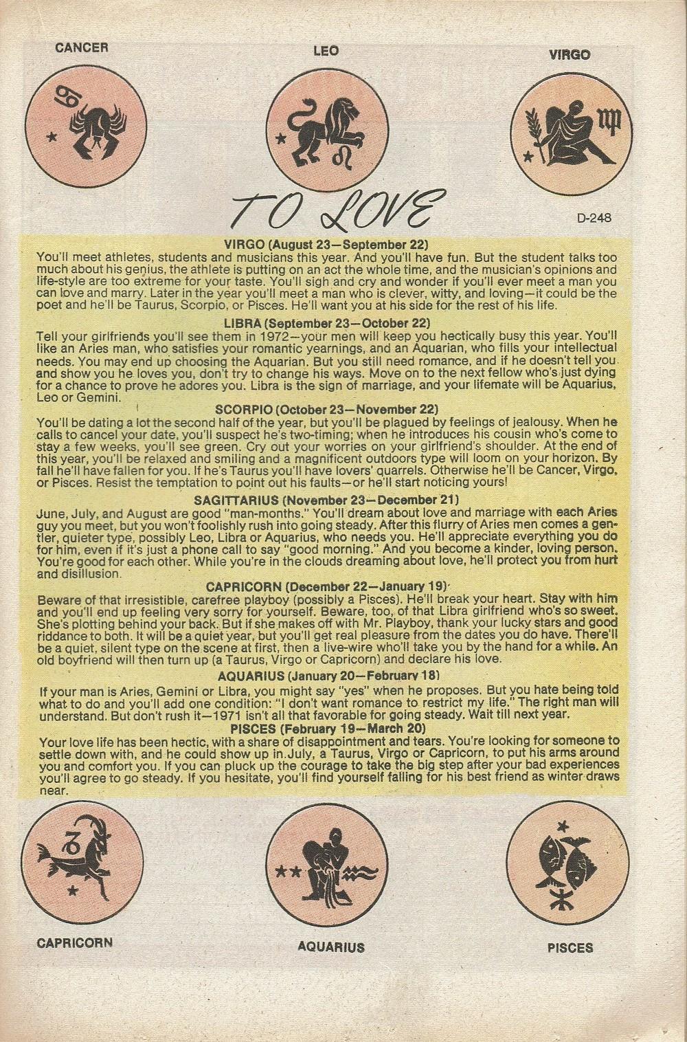 Read online Secret Hearts comic -  Issue #153 - 21
