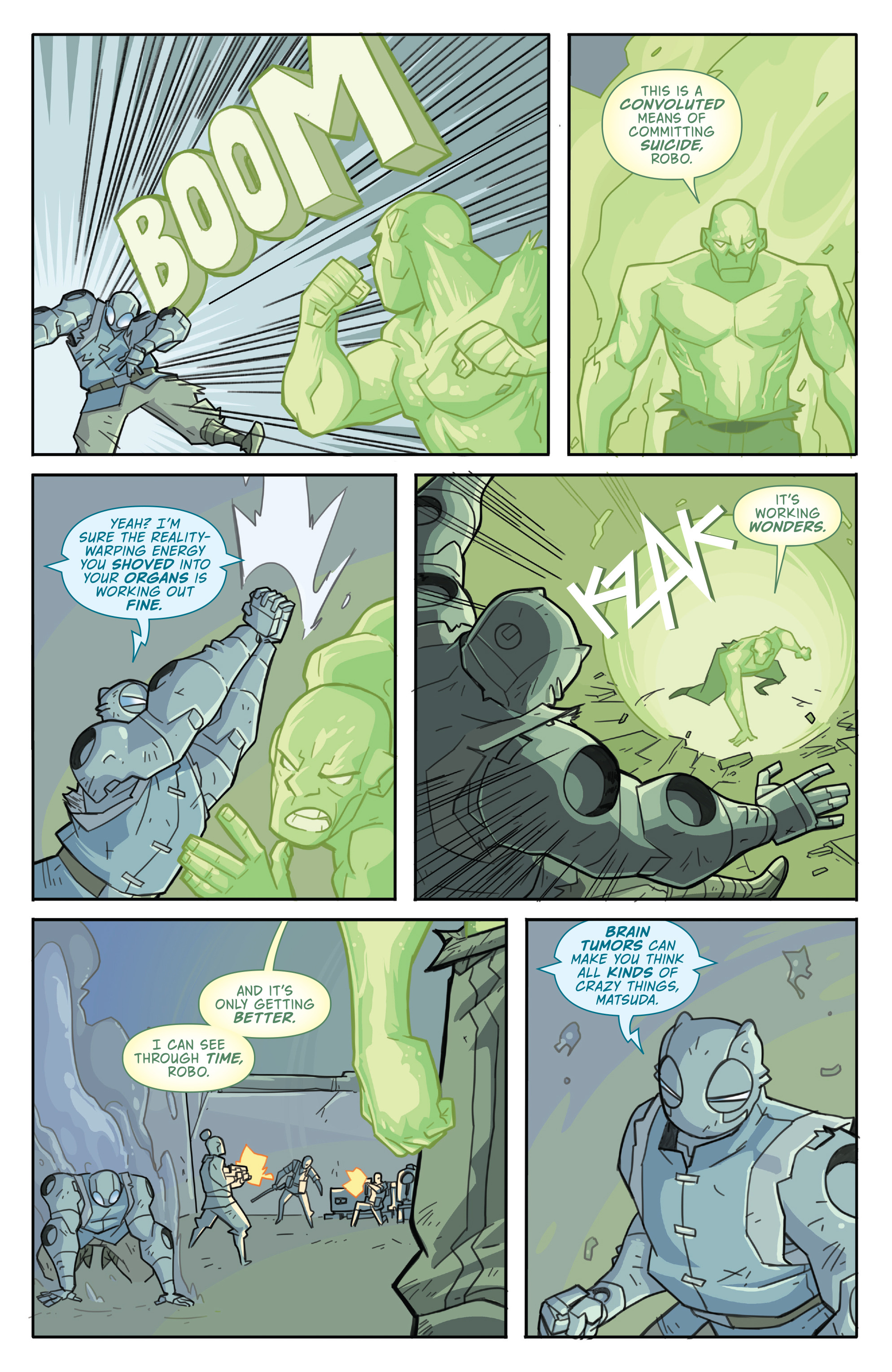 Read online Atomic Robo and the Temple of Od comic -  Issue #4 - 18