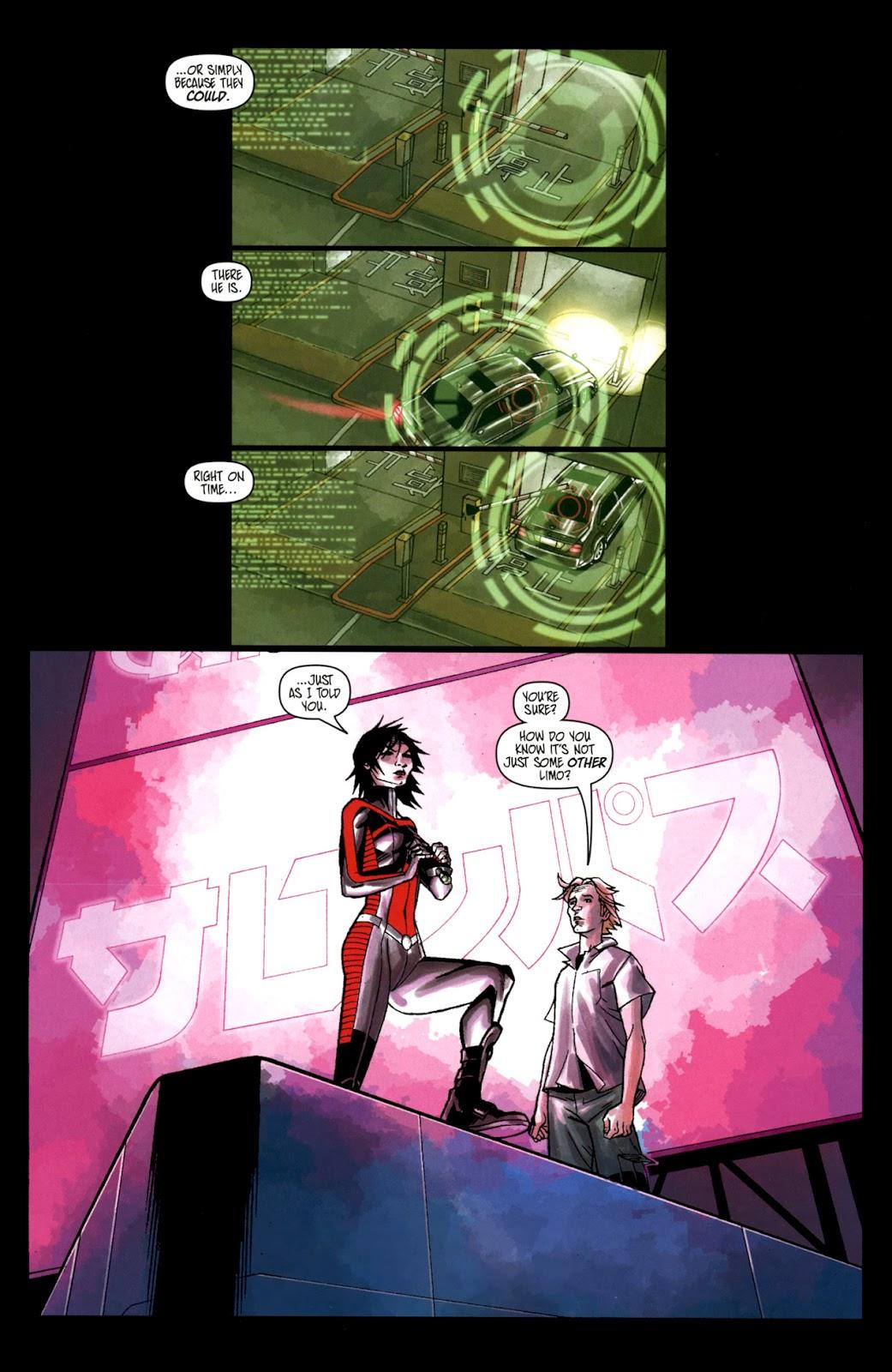 Read online Shinku comic -  Issue #2 - 5