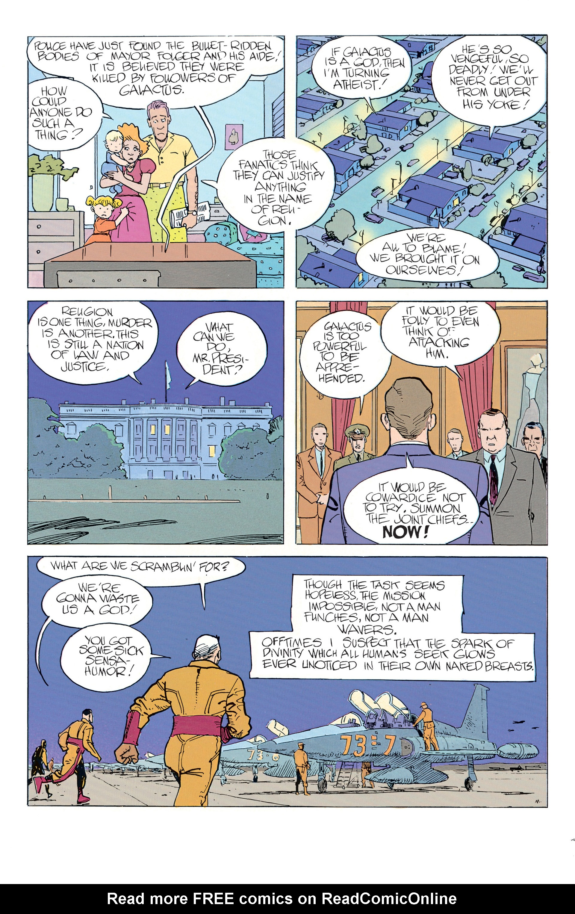 Read online Silver Surfer (1988) comic -  Issue #2 - 25