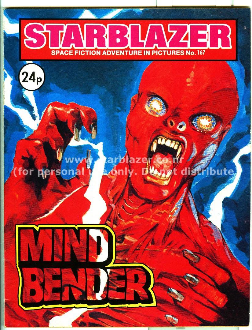 Starblazer issue 167 - Page 1