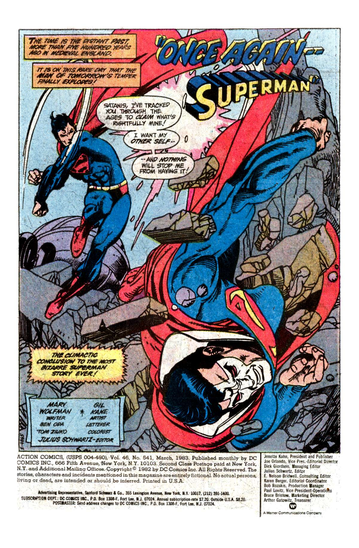 Read online Action Comics (1938) comic -  Issue #541 - 2