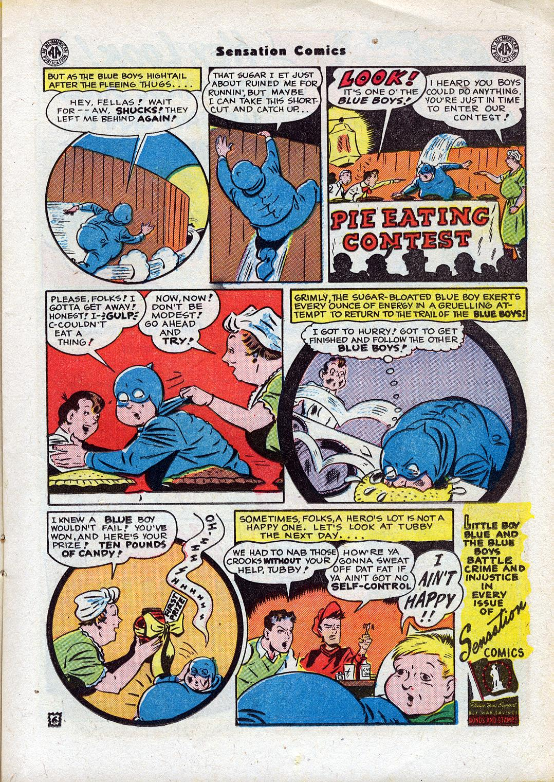 Read online Sensation (Mystery) Comics comic -  Issue #44 - 21