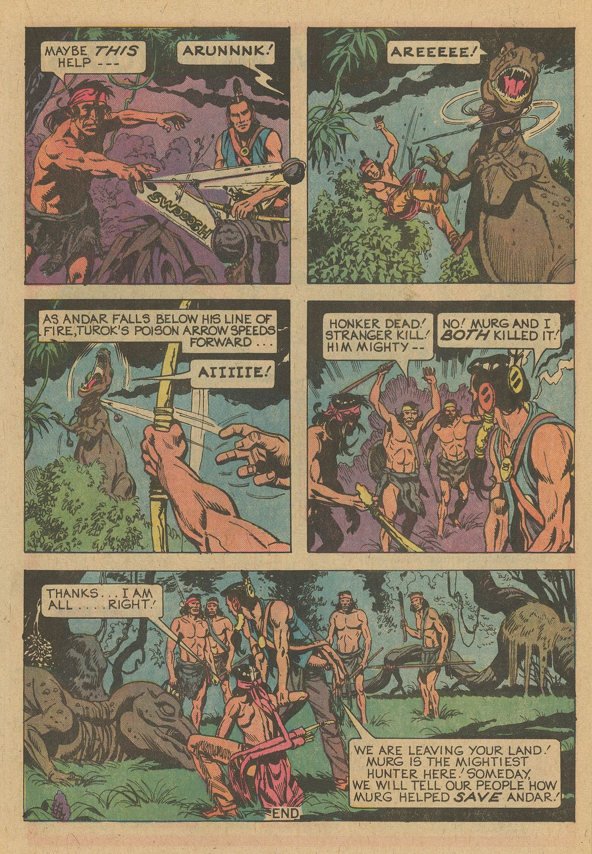 Read online Turok, Son of Stone comic -  Issue #109 - 17