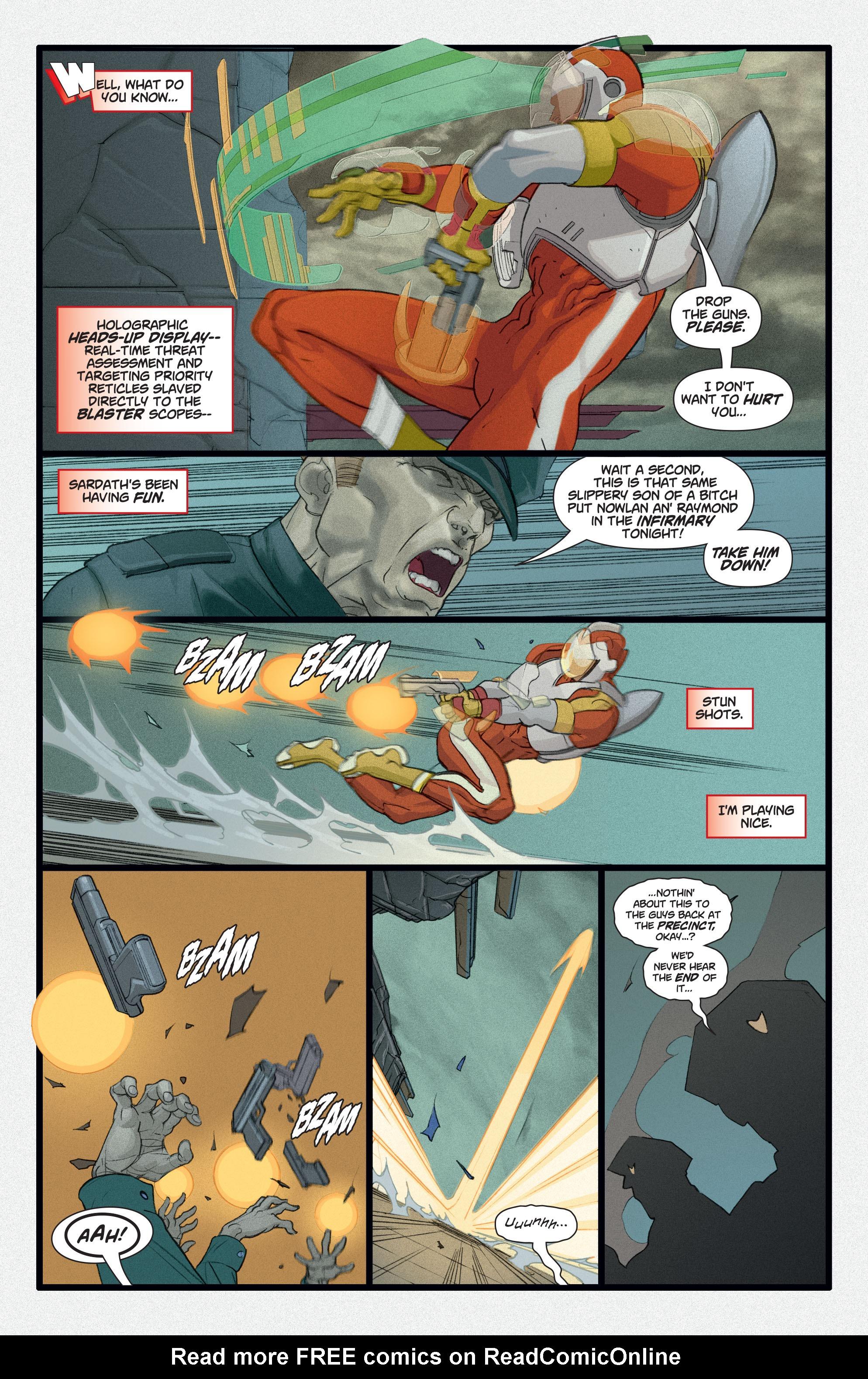 Read online Adam Strange (2004) comic -  Issue #2 - 17