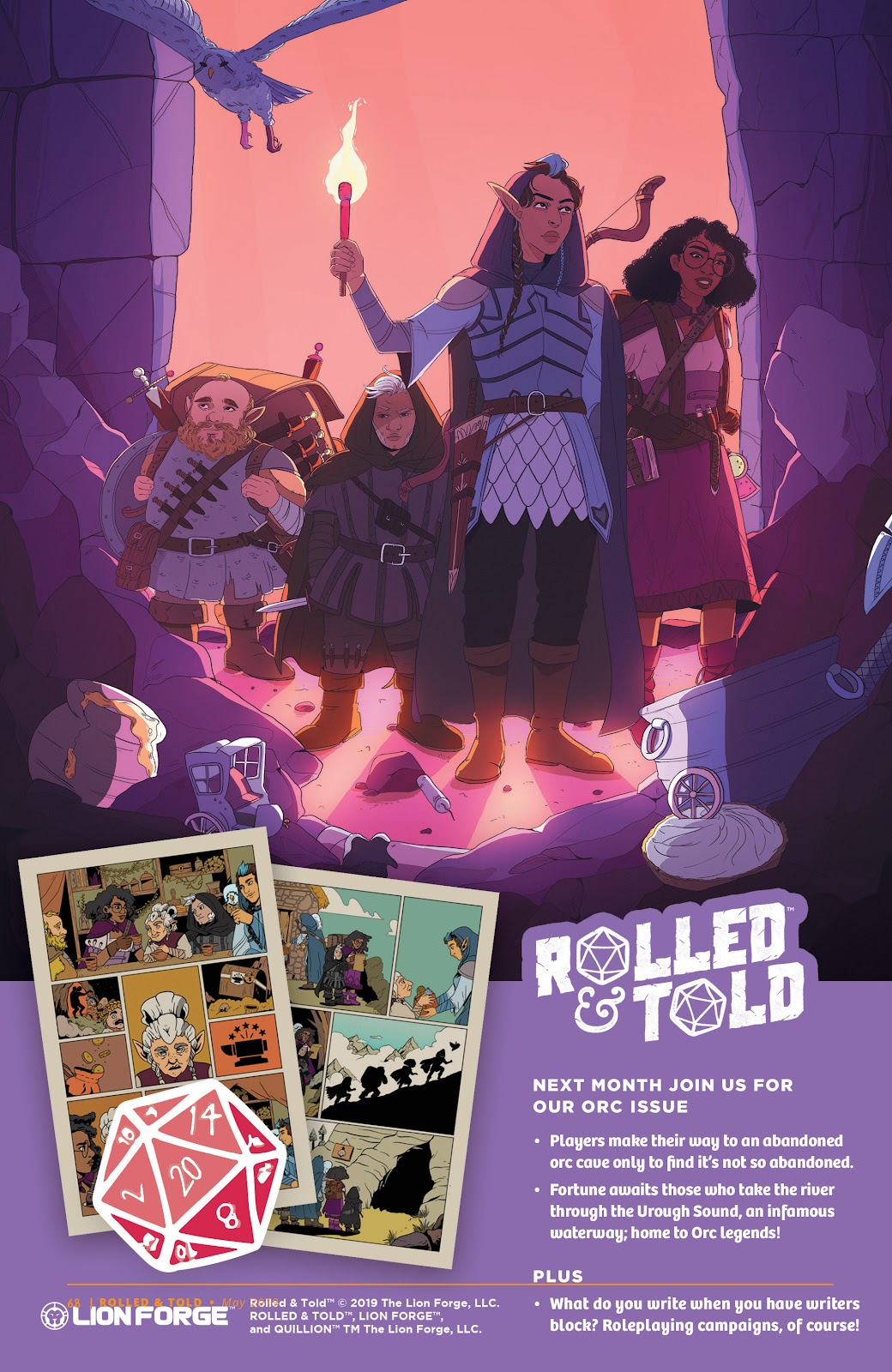 Read online Rolled & Told comic -  Issue #9 - 59