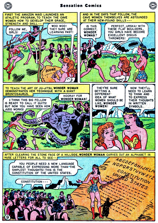 Read online Sensation (Mystery) Comics comic -  Issue #91 - 11